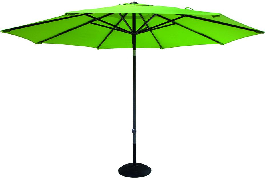 Hartman Parasol 'Solar Line' 300cm, kleur Groen