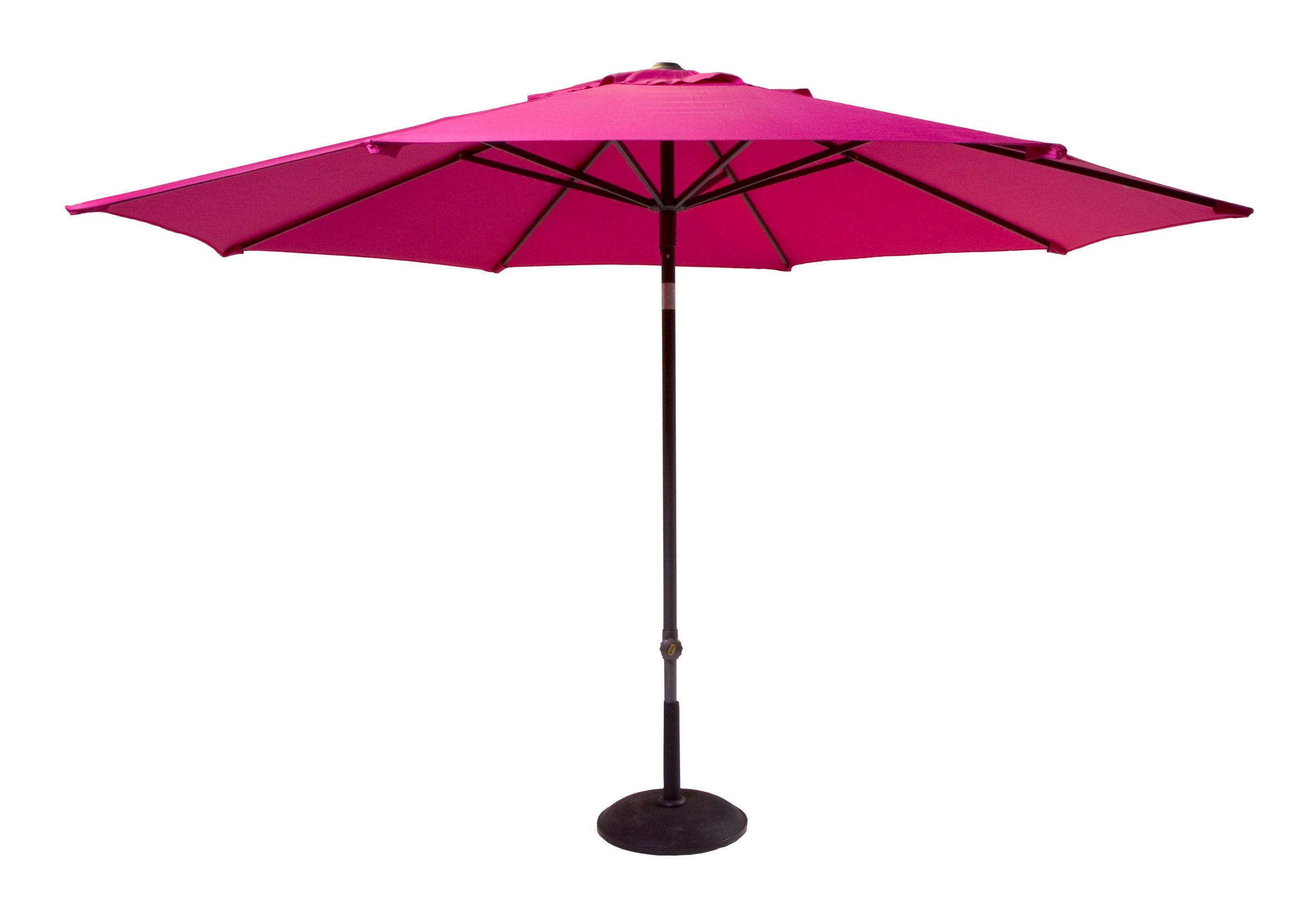 Hartman Parasol 'Solar Line' 300cm, kleur Roze
