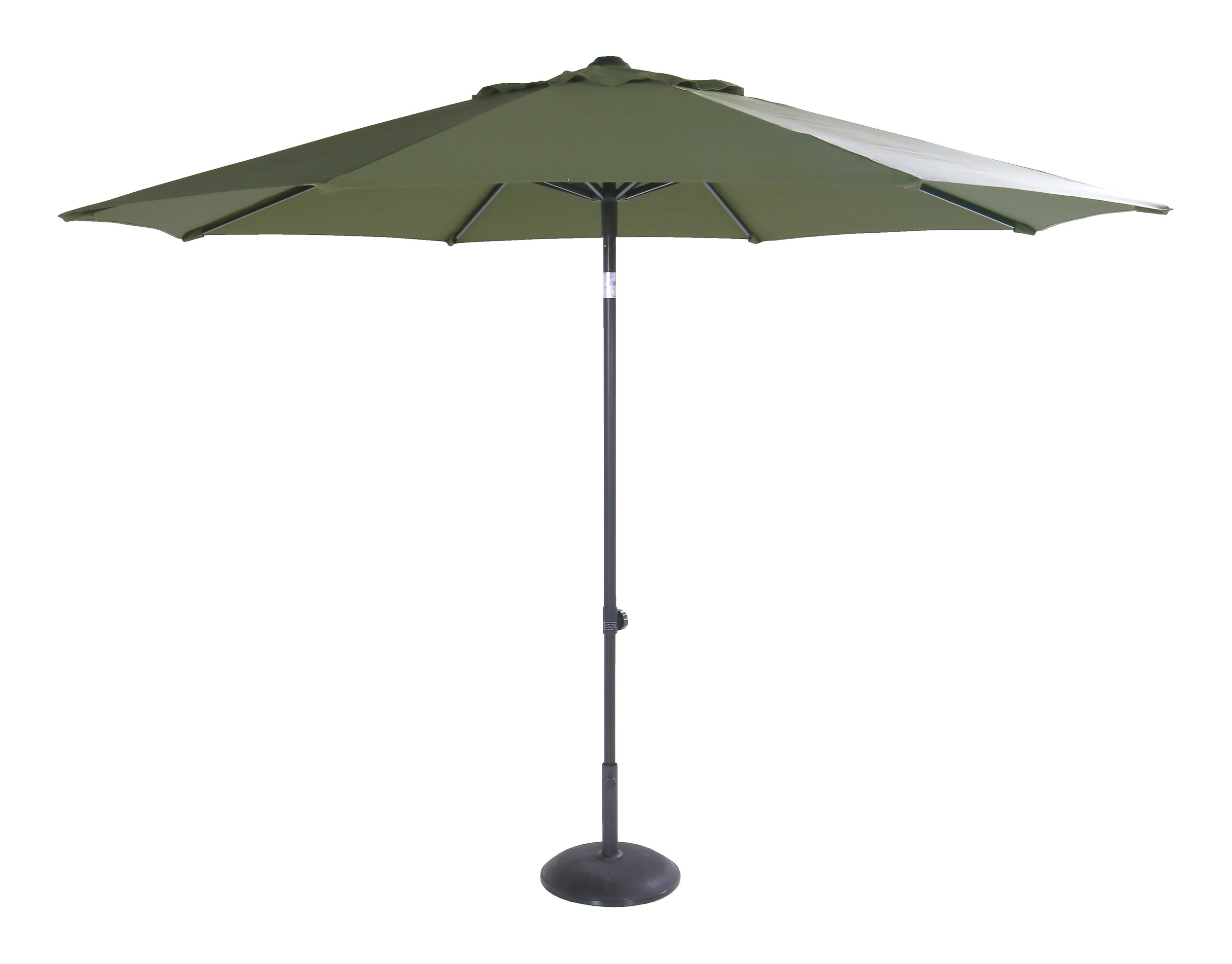 Hartman Parasol 'Sophie' 300cm, kleur Groen
