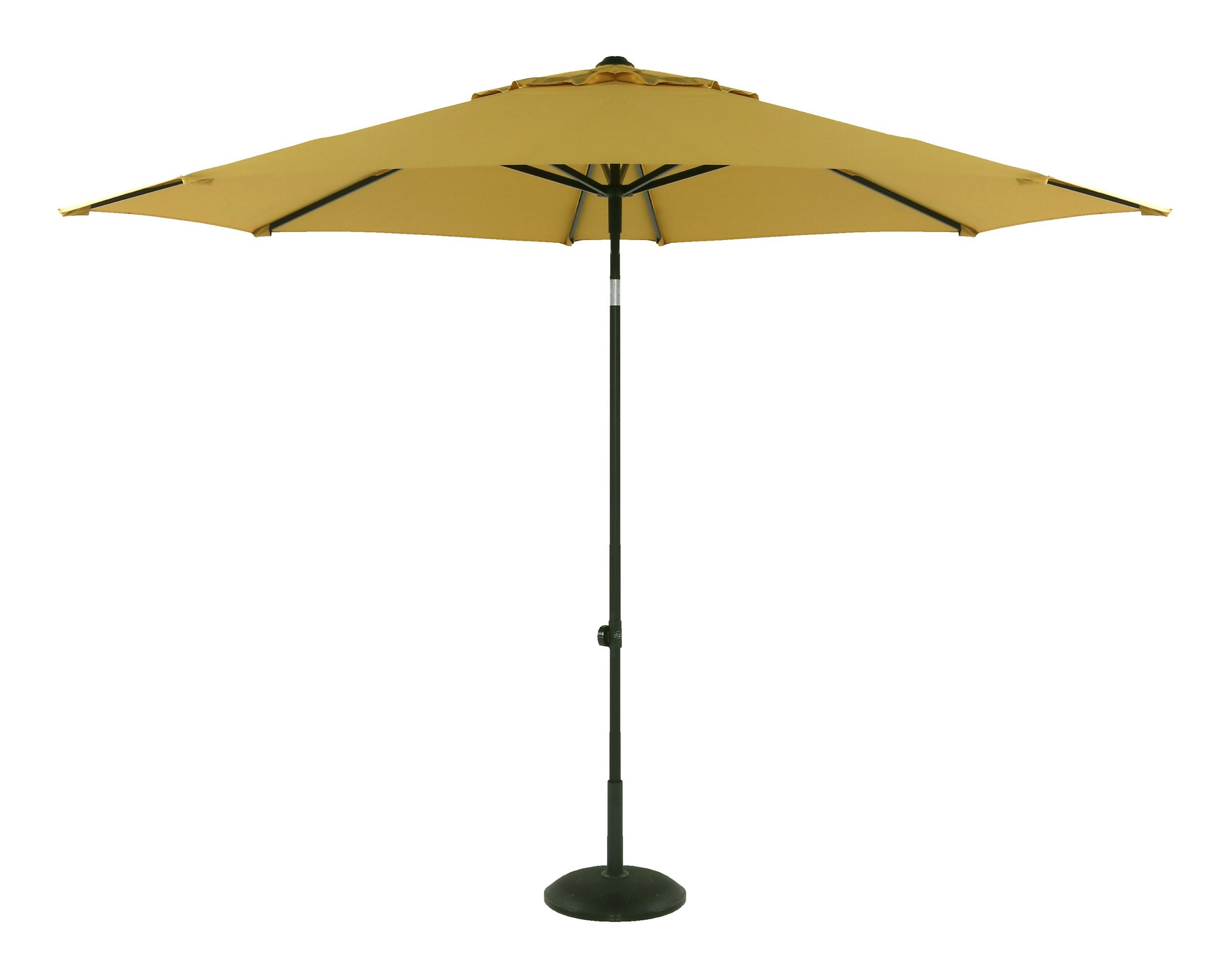 Hartman Parasol 'Sophie' 300cm, kleur Geel
