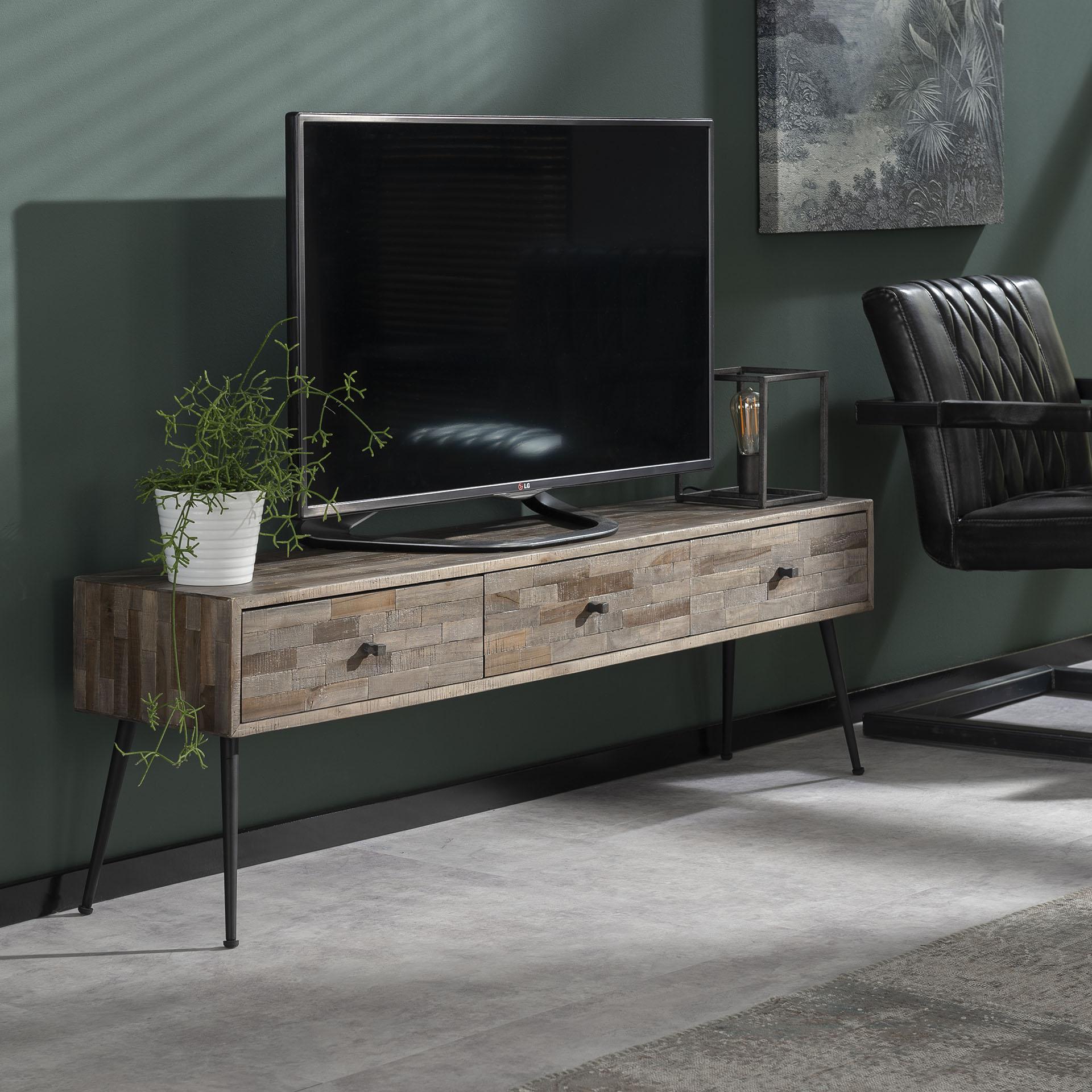 TV-meubel 'Teca' 150cm vergelijken LifestyleFurn