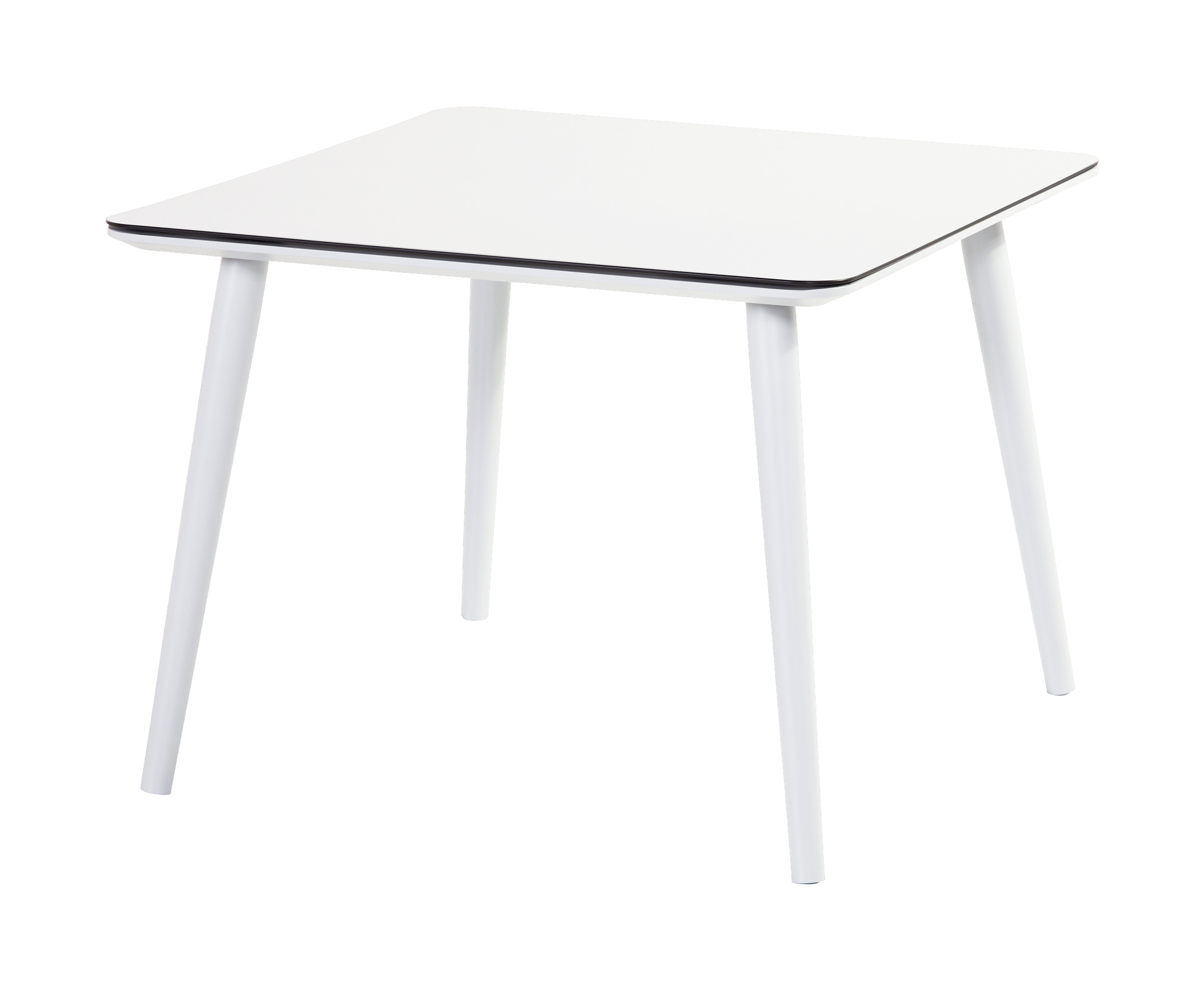 Hartman Tuintafel 'Sophie Studio' HPL, 100 x 100cm, kleur Wit