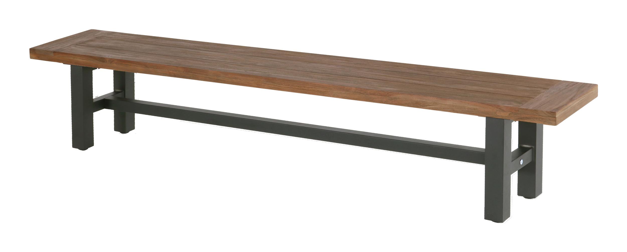 Hartman Tuinbank 'Sophie' 240cm, kleur Antraciet