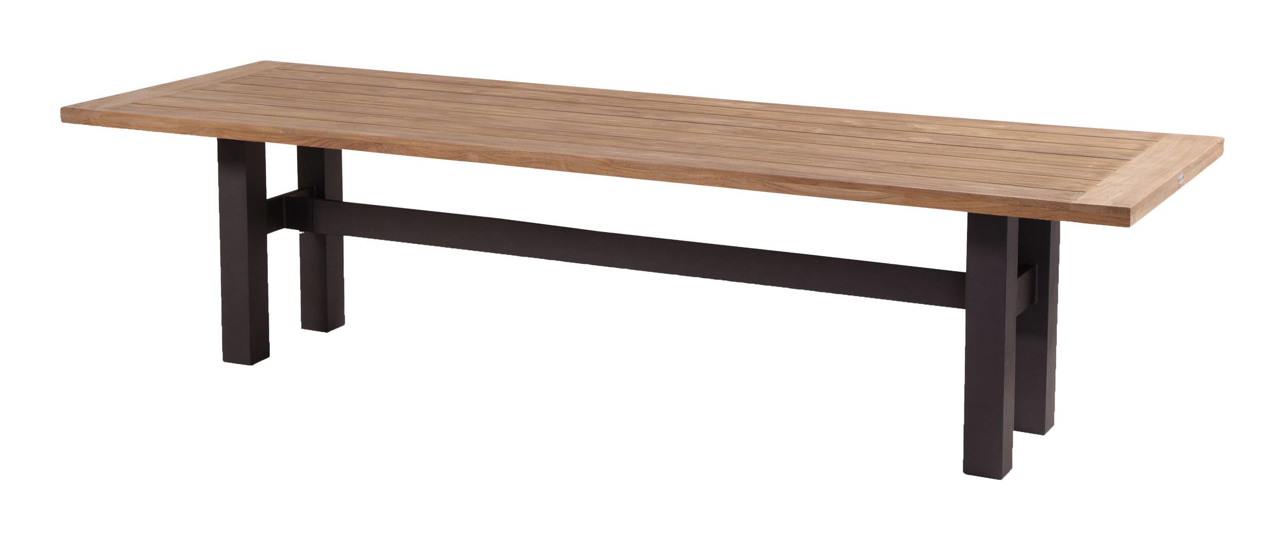 Hartman Tuintafel 'Sophie Yasmani' 300 x 100cm, kleur Zwart