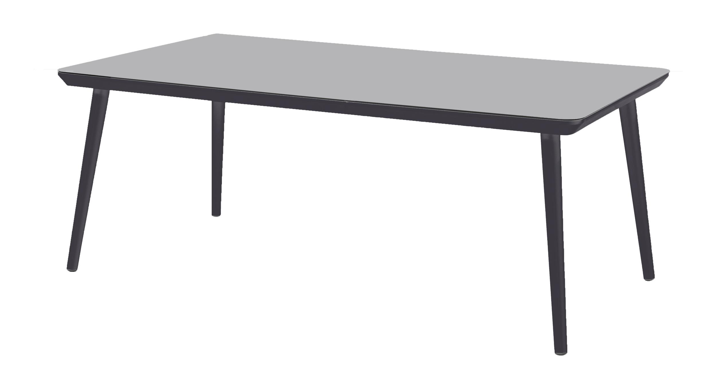 Hartman Tuintafel 'Sophie Studio' HPL, 170 x 100cm, kleur Zwart