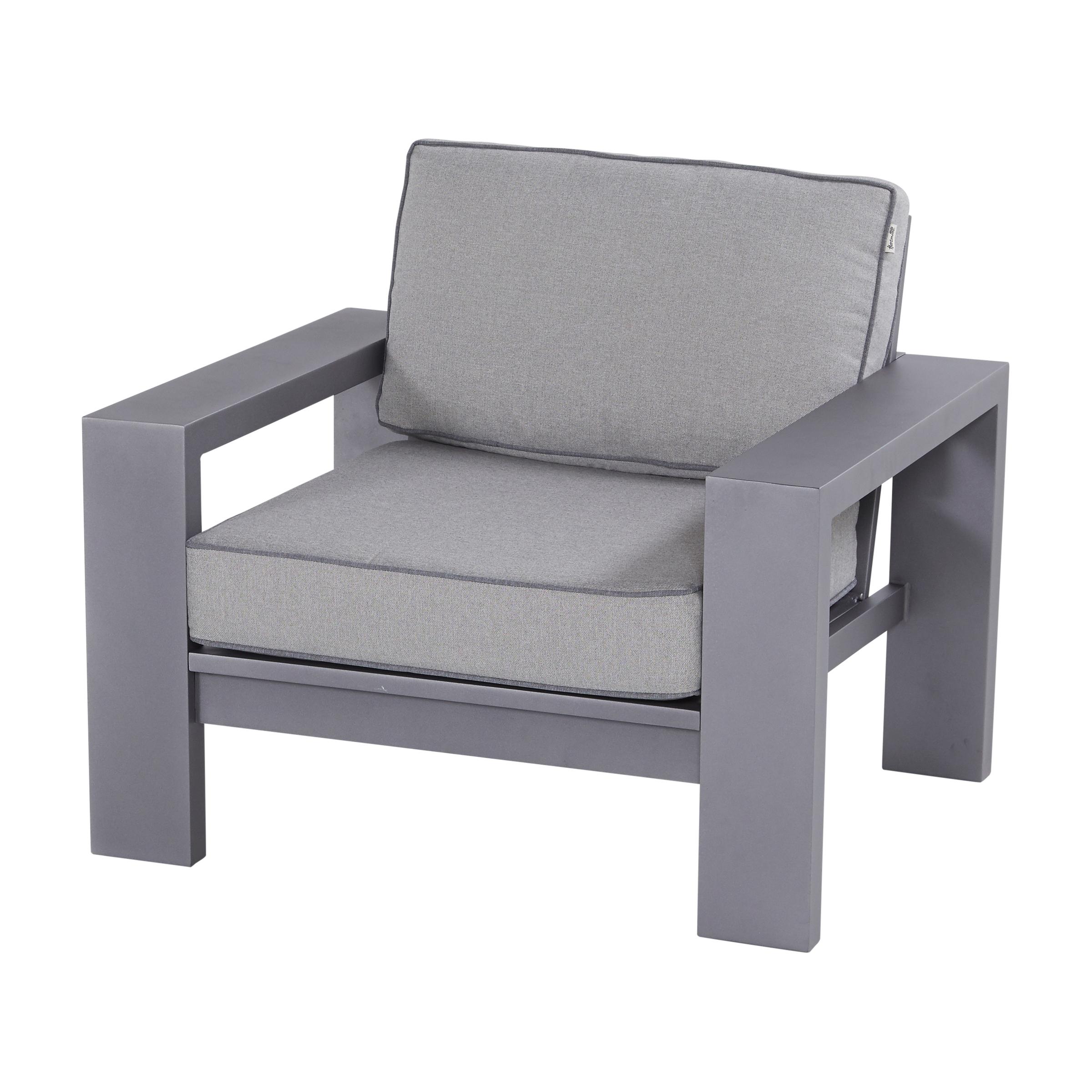 Hartman Outdoor loungestoel 'Titan', kleur Grijs