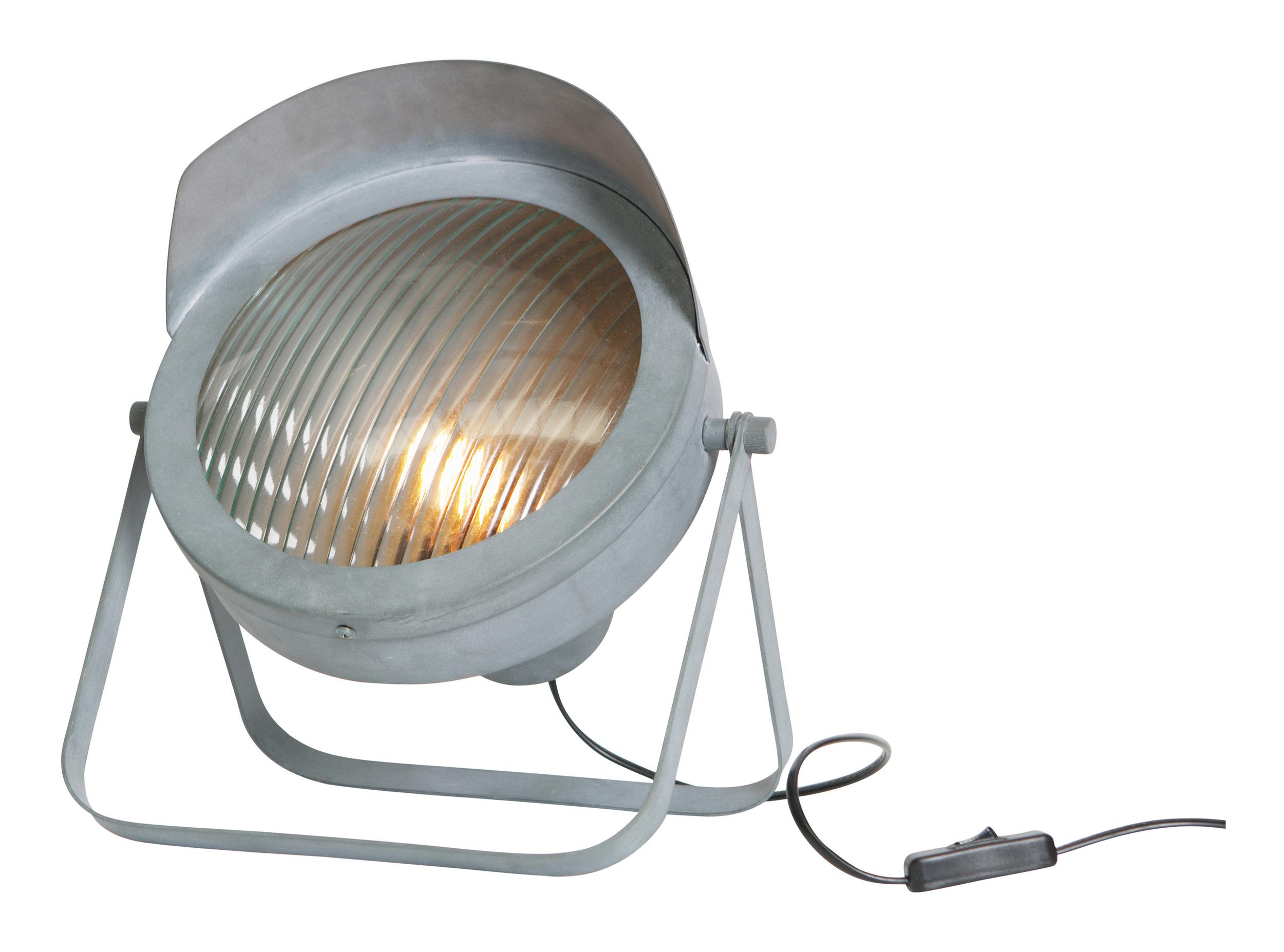 WOOOD Tafellamp 'Lester' kleur Betongrijs korting