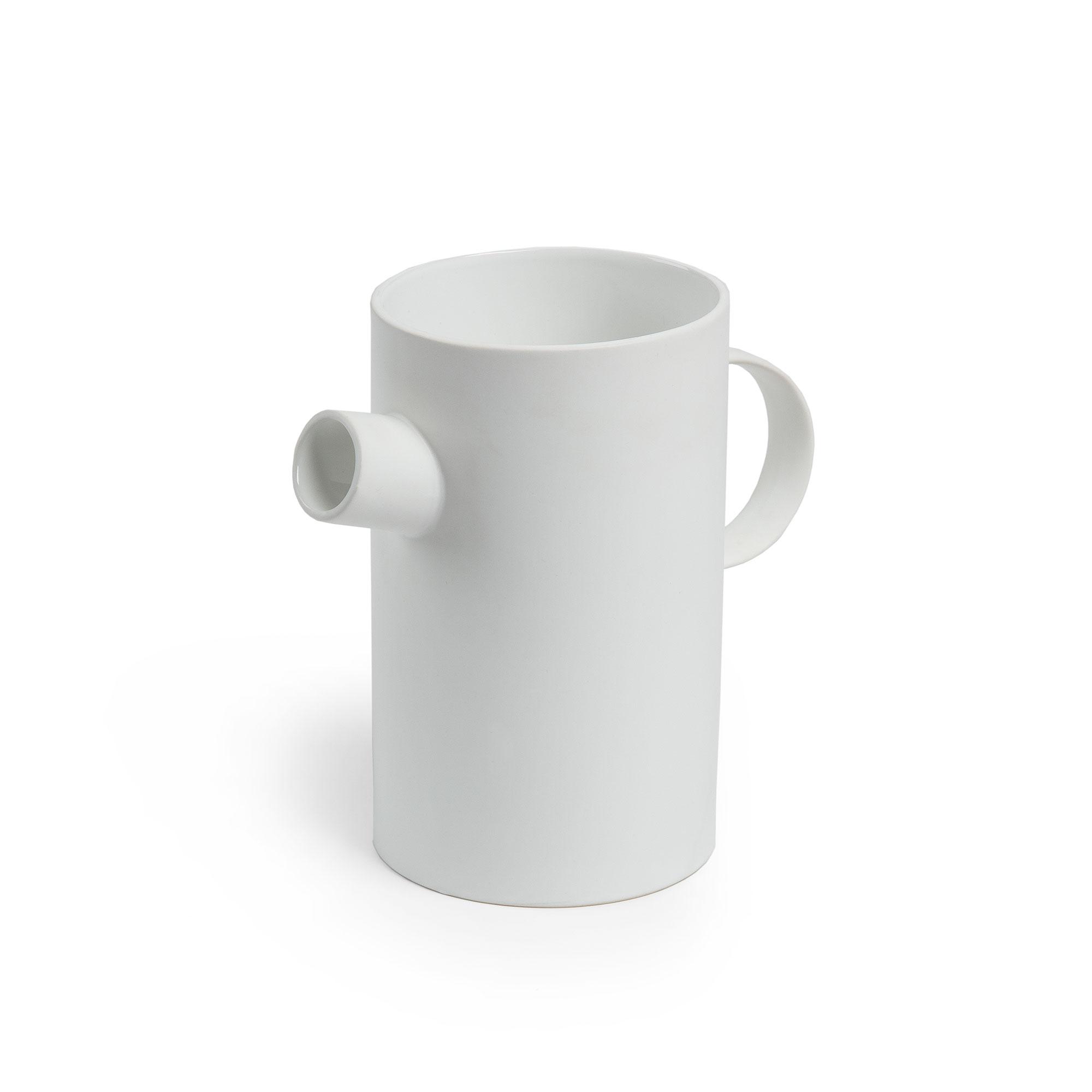 Kave Home Vaas 'Olga' kleur Wit