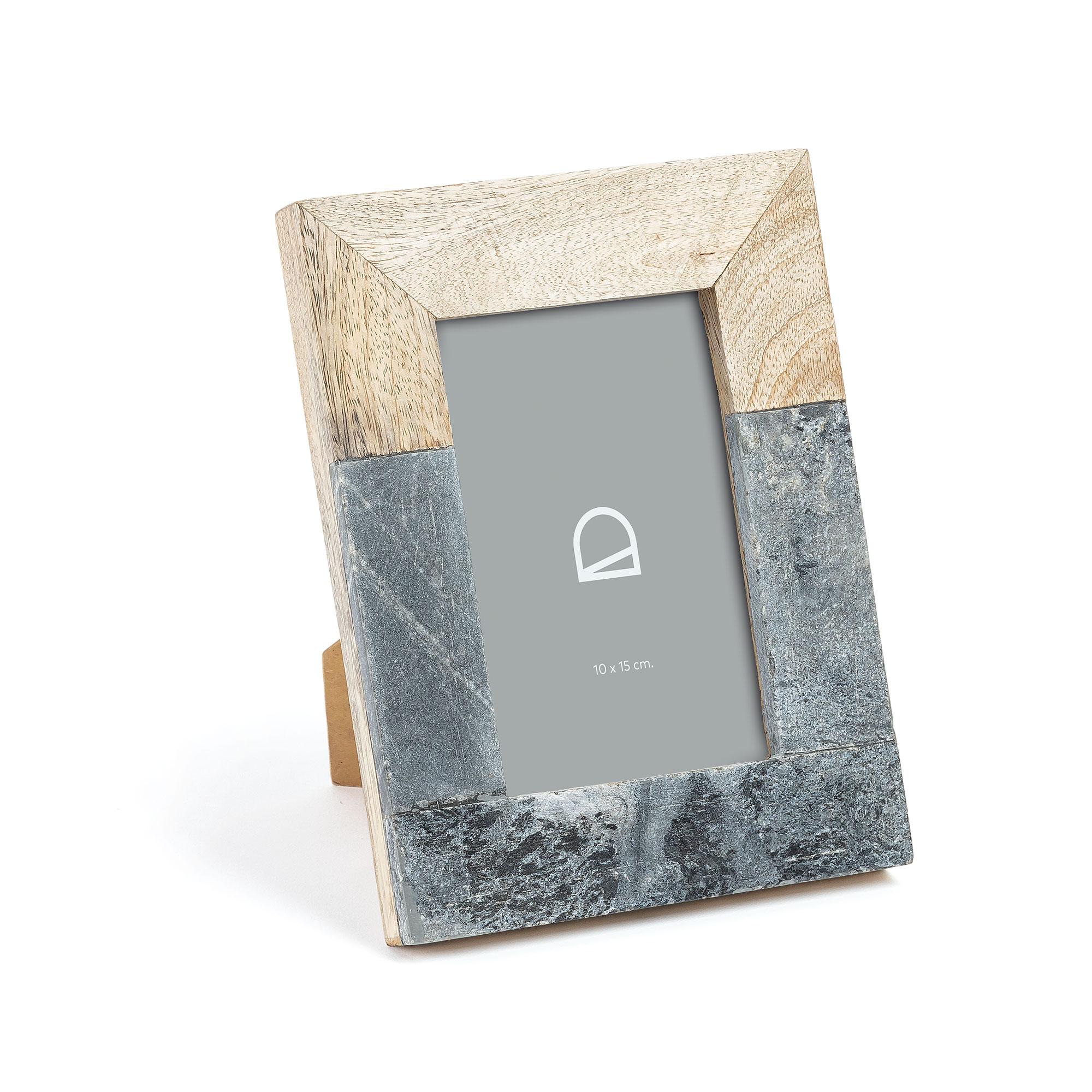 Kave Home 'Estel' 10 x 15cm, kleur Grijs korting