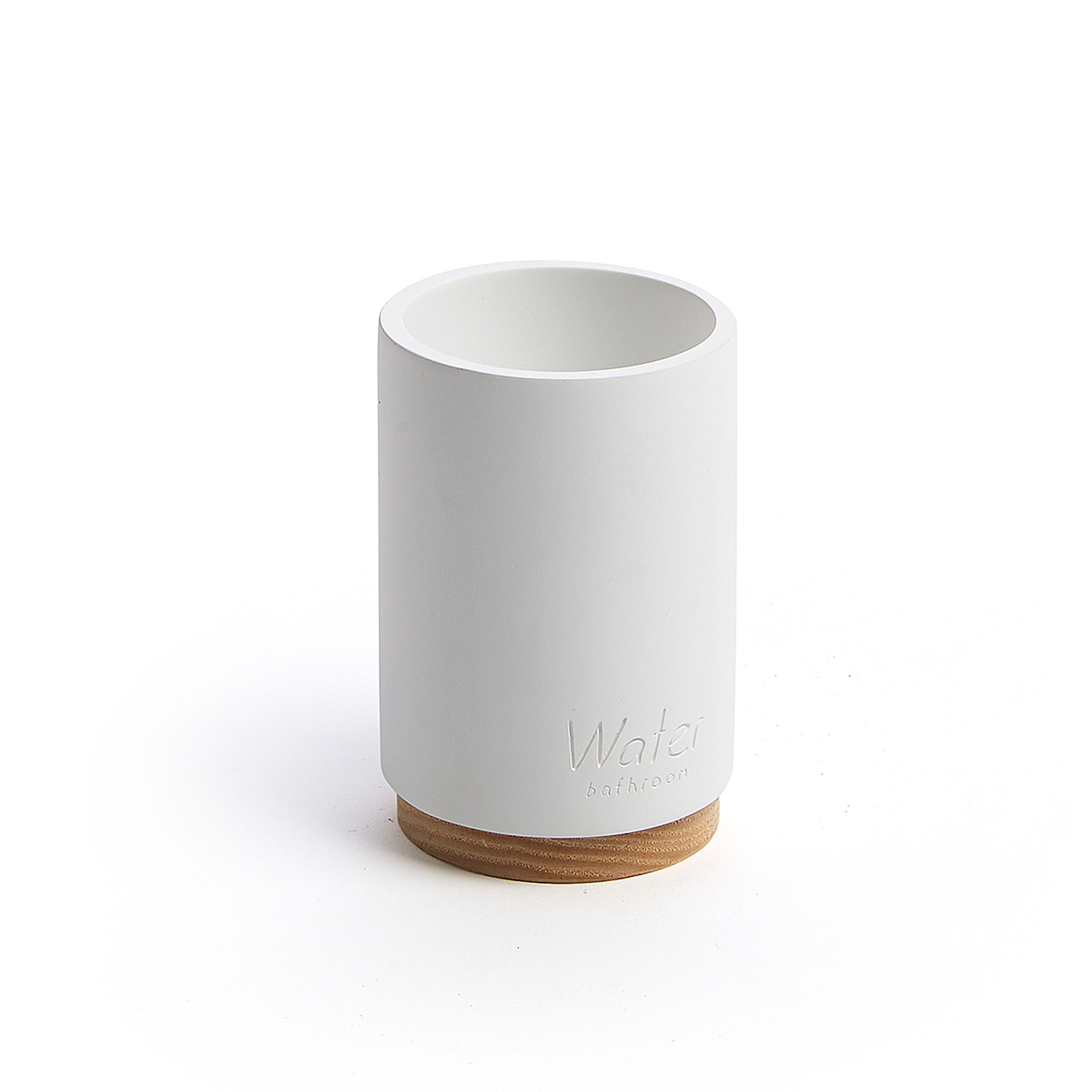 Kave Home Beker 'Elora' kleur Wit
