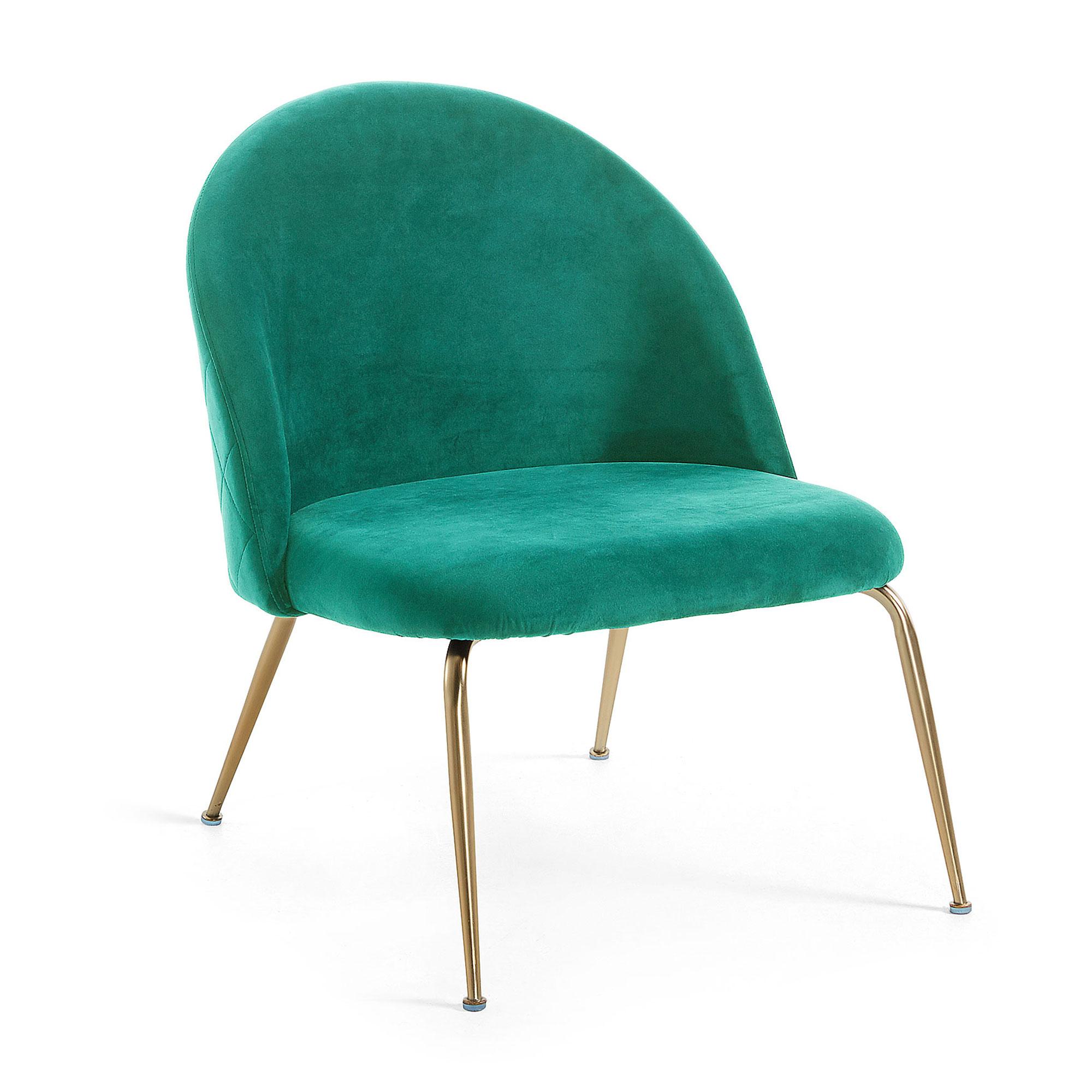 Kave Home Fauteuil 'Ivonne' kleur Groen korting