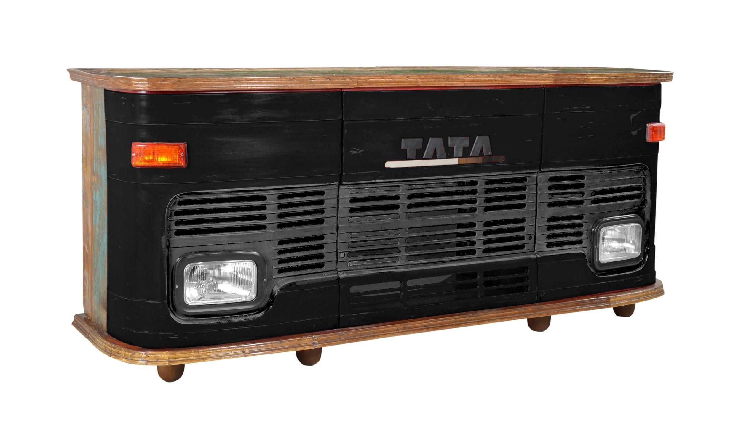 Artistiq Bar Truck 253cm, kleur zwart