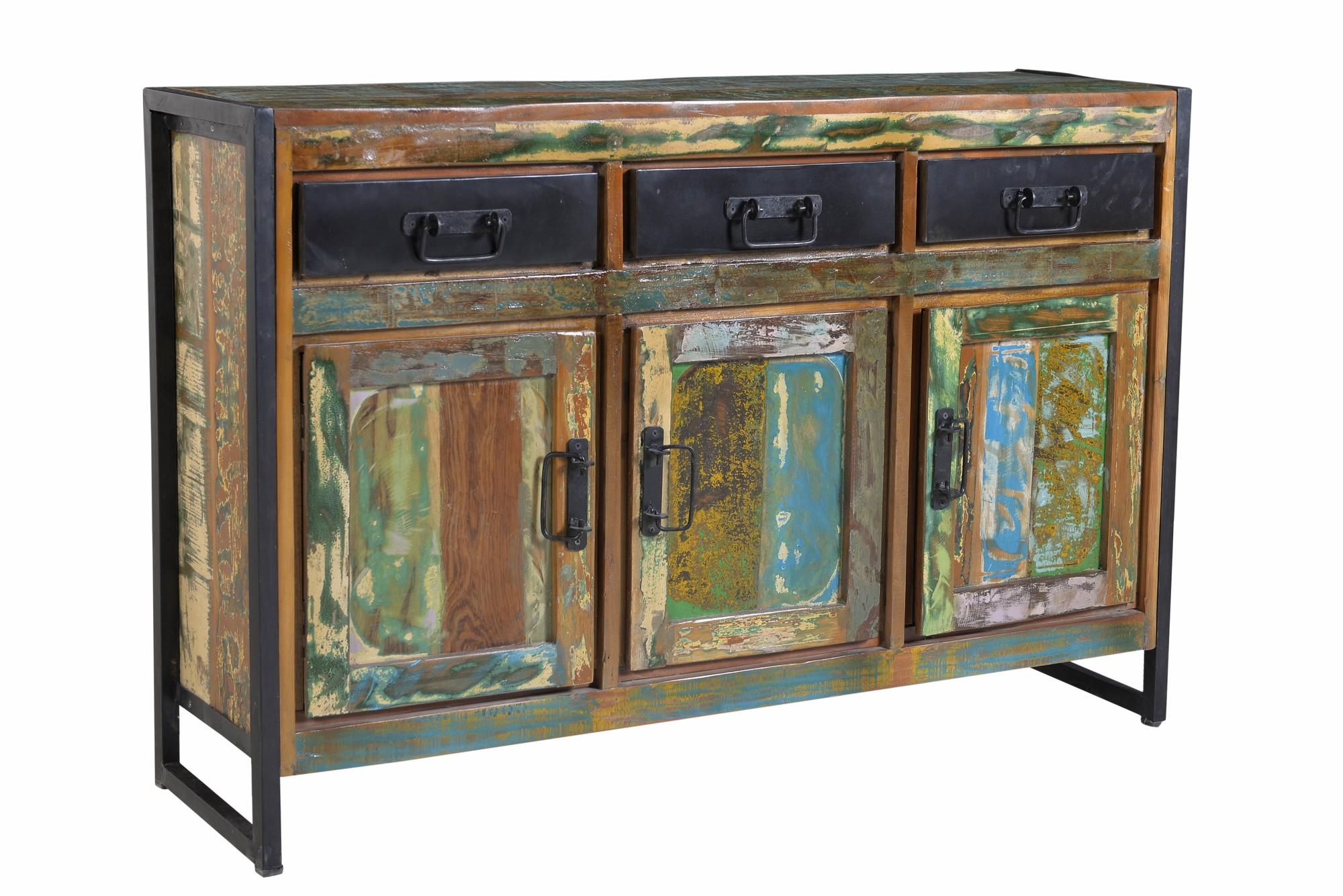 Artistiq Dressoir 'Bali Vintage' multicolor, 130cm