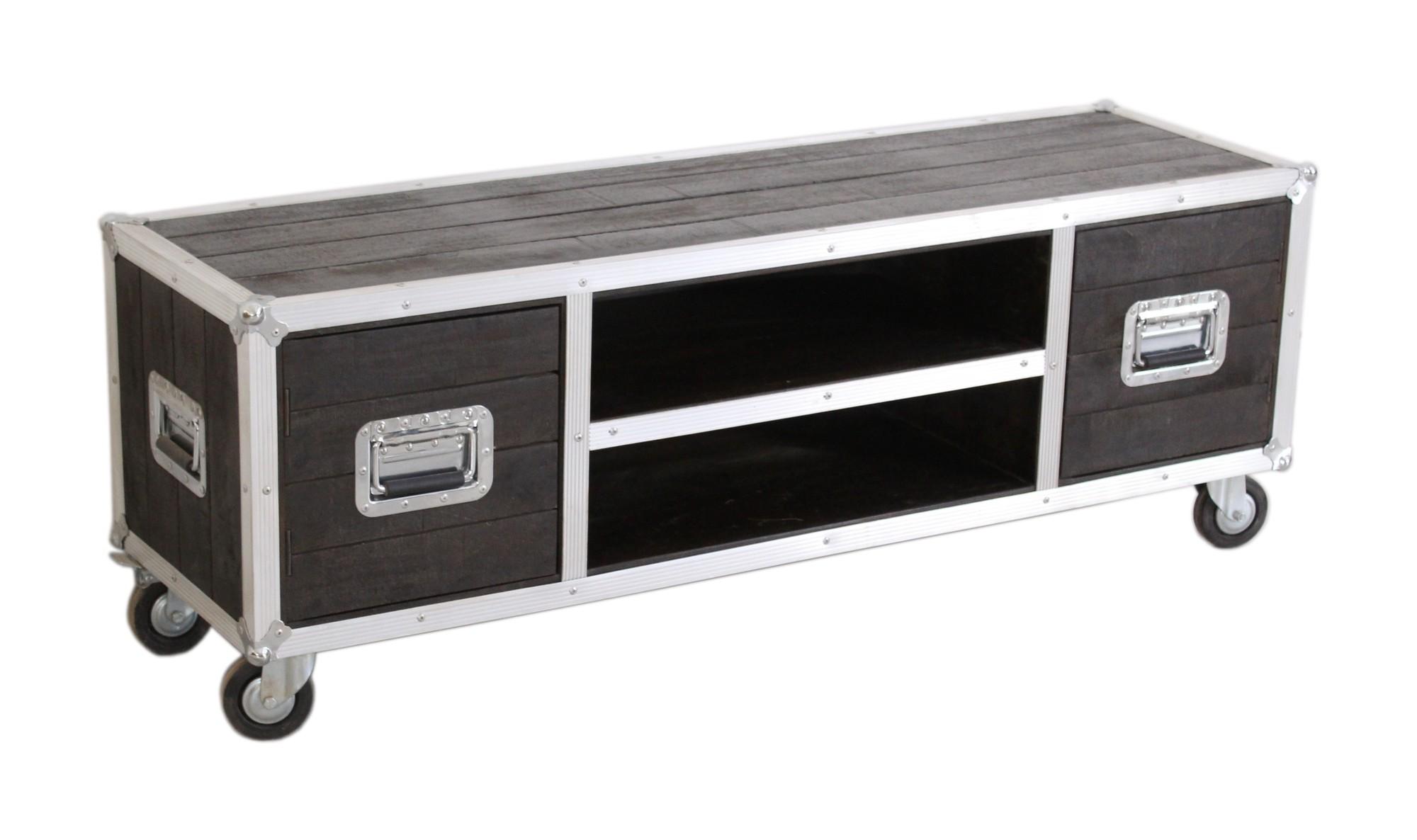 Artistiq Tv-meubel 'Dark Roadies' 140cm van Artistiq Living