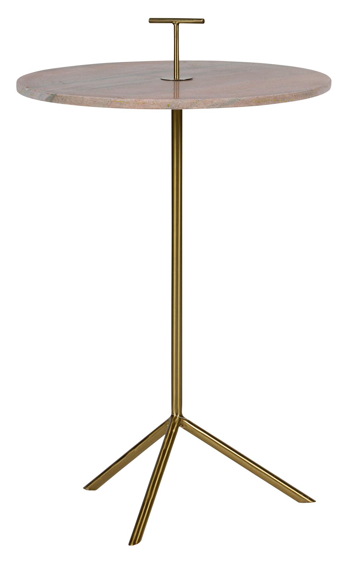 BePureHome Bijzettafel 'Paddle' 43,5cm, kleur Roze Tafels | Bijzettafels kopen