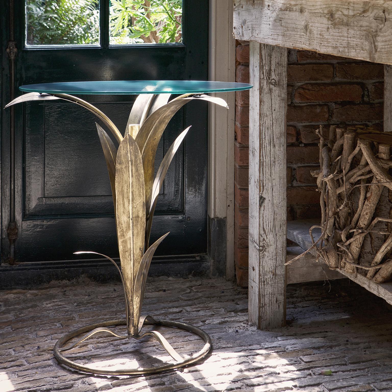 BePureHome Bijzettafel 'Tree' 60cm, kleur Antique Brass Tafels   Bijzettafels kopen