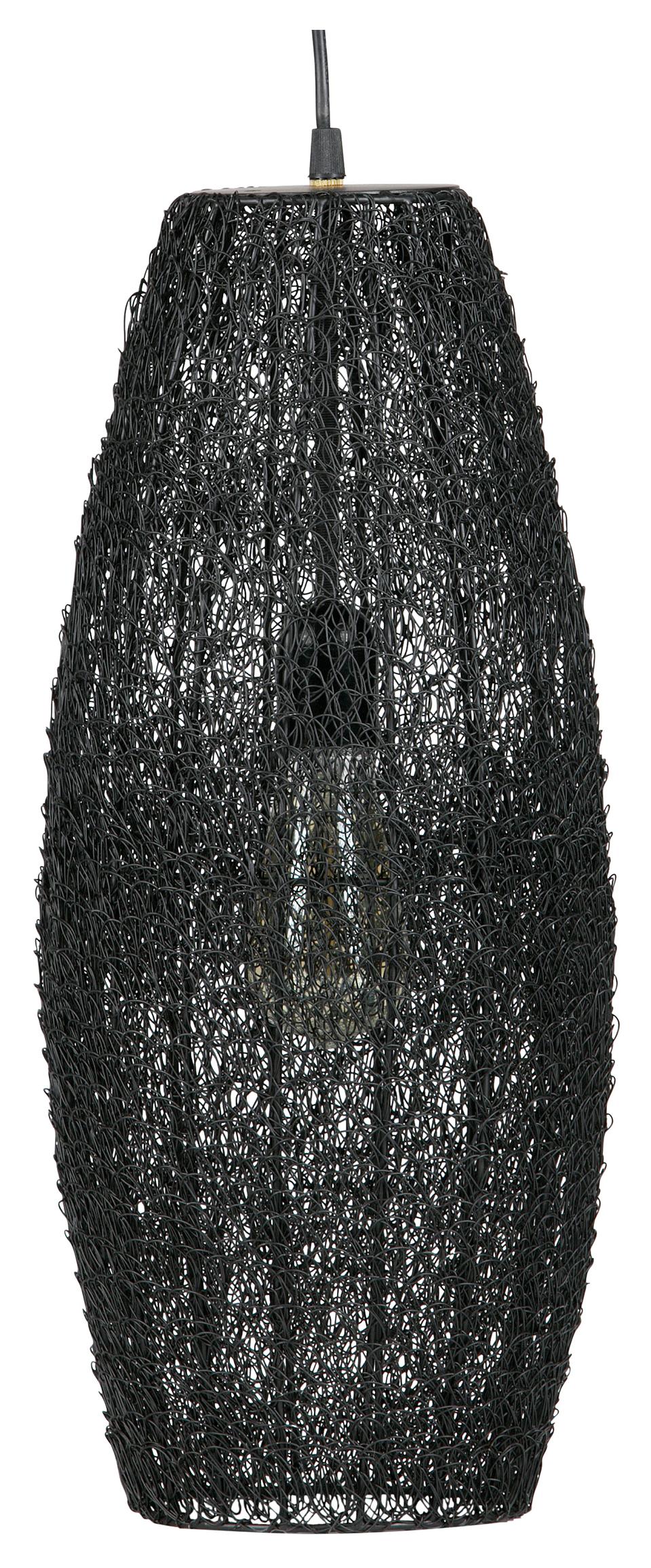 BePureHome Hanglamp 'Creative' 50cm, kleur Zwart Verlichting | Hanglampen kopen