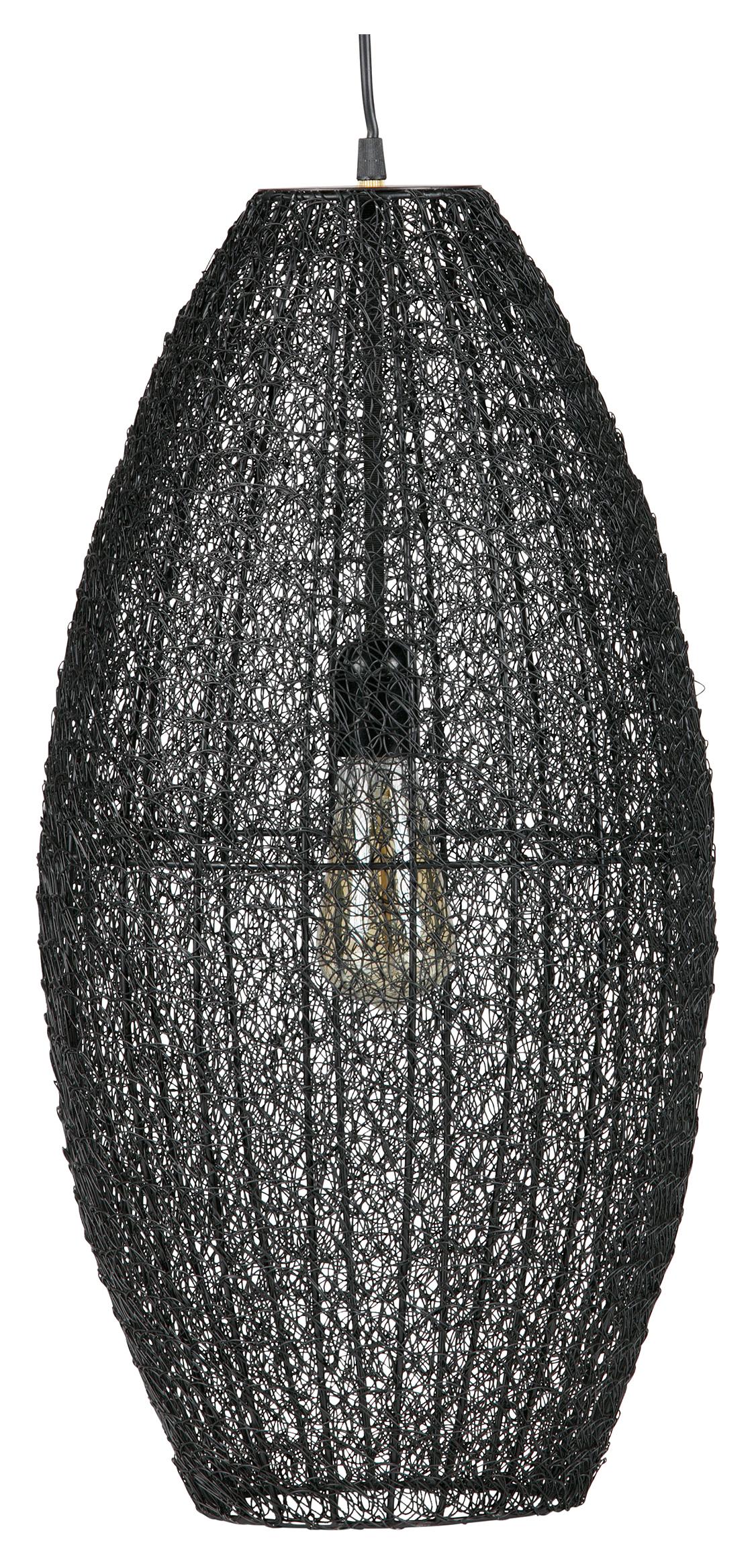 BePureHome Hanglamp 'Creative' 60cm, kleur Zwart Verlichting | Hanglampen kopen