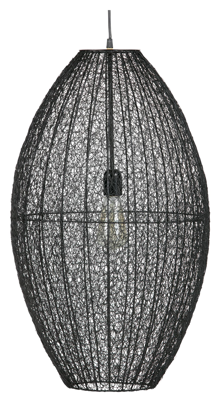BePureHome Hanglamp 'Creative' 70cm, kleur Zwart Verlichting | Hanglampen kopen