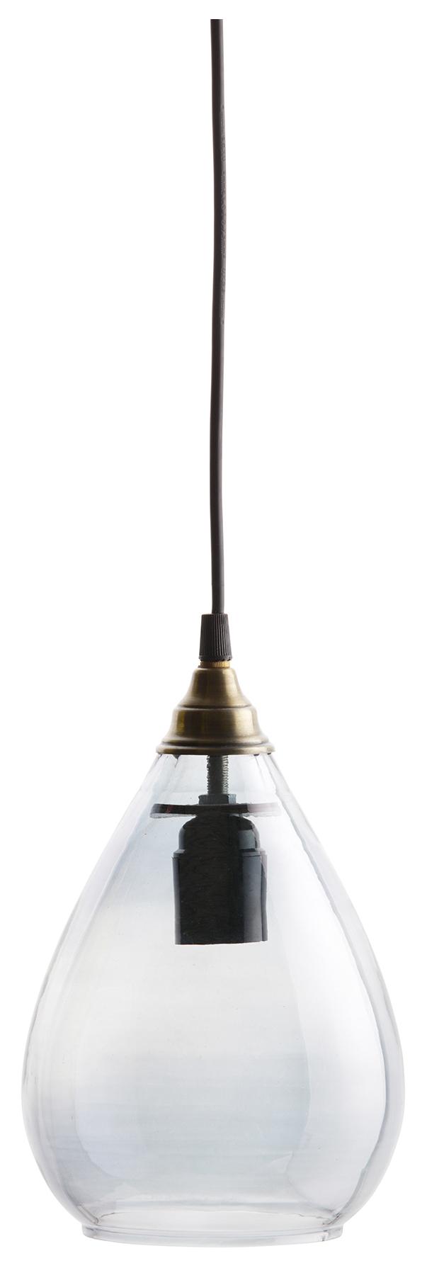 BePureHome Hanglamp 'Simple' Medium, kleur Grijs Verlichting | Hanglampen kopen