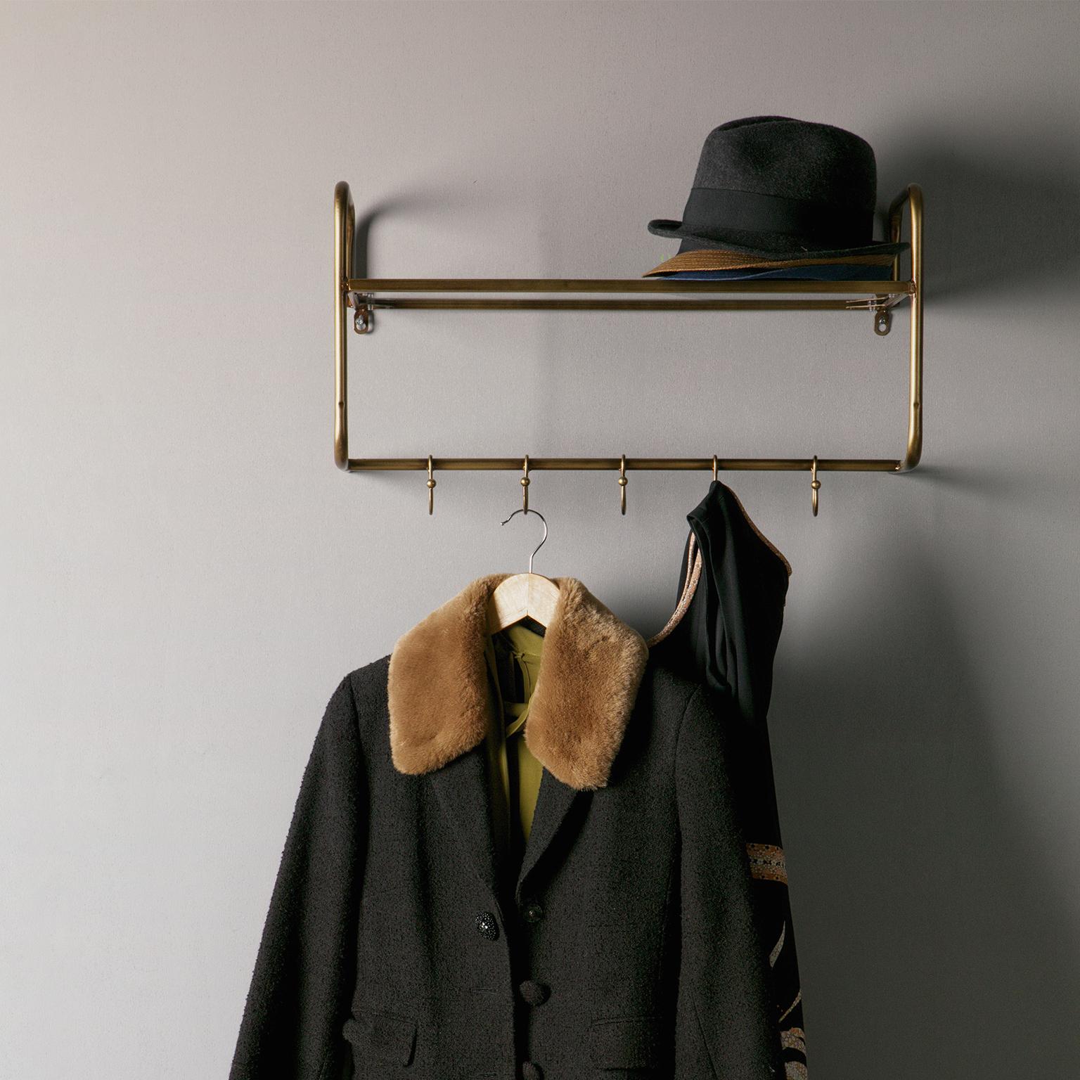 BePureHome Kapstok 'Hatstand', Antique Brass Woonaccessoires | Kapstokken kopen