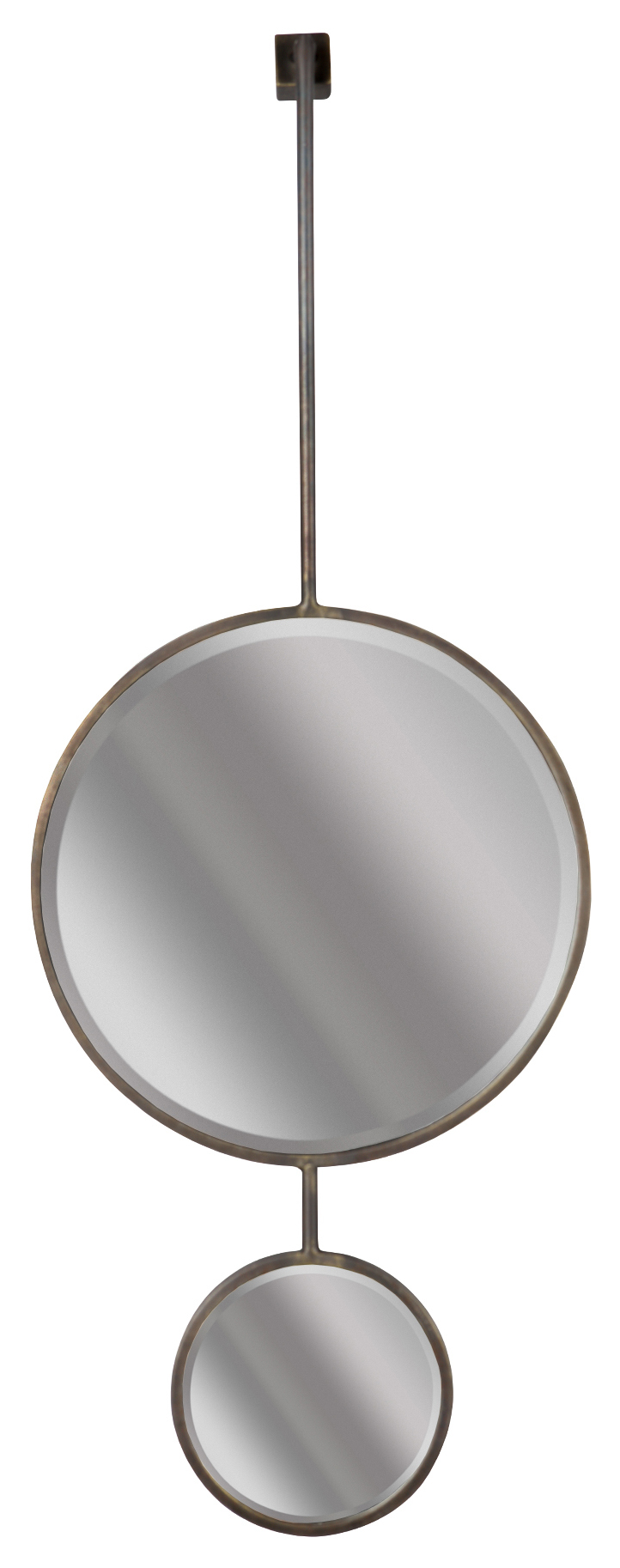 BePureHome Spiegel 'Chain' 108 x 40cm, kleur Antique Black Woonaccessoires | Spiegels kopen