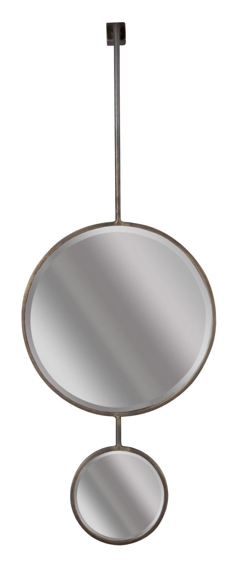 BePureHome Spiegel 'Chain' 108 x 40cm, kleur Antique Black BePureHome 30974 kopen