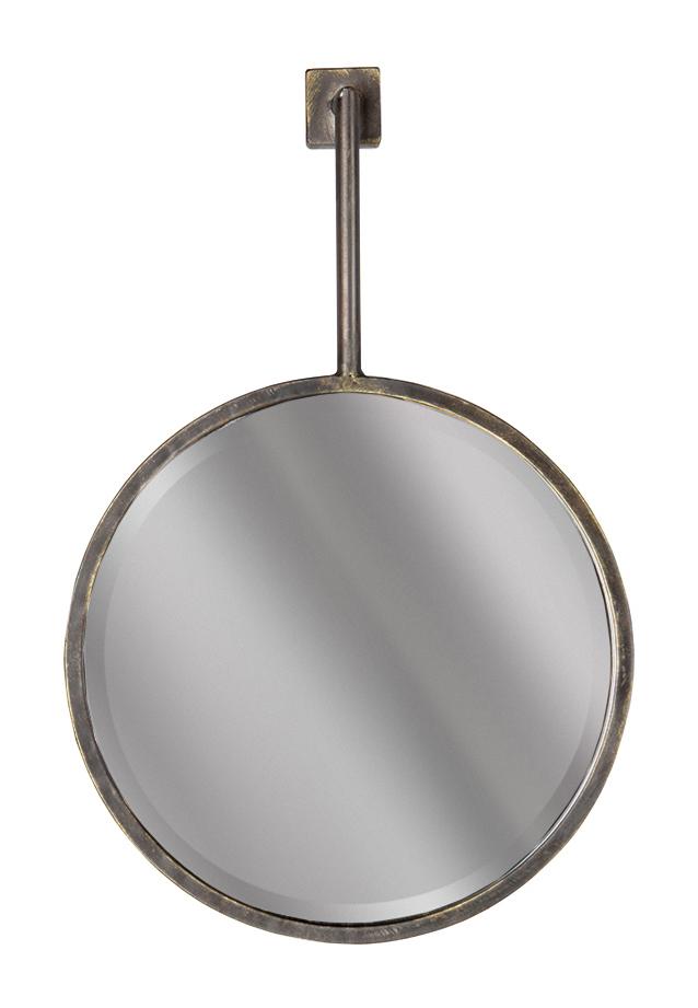 BePureHome Spiegel 'Chain' 47 x 30cm, kleur Antique Black BePureHome 30973 kopen
