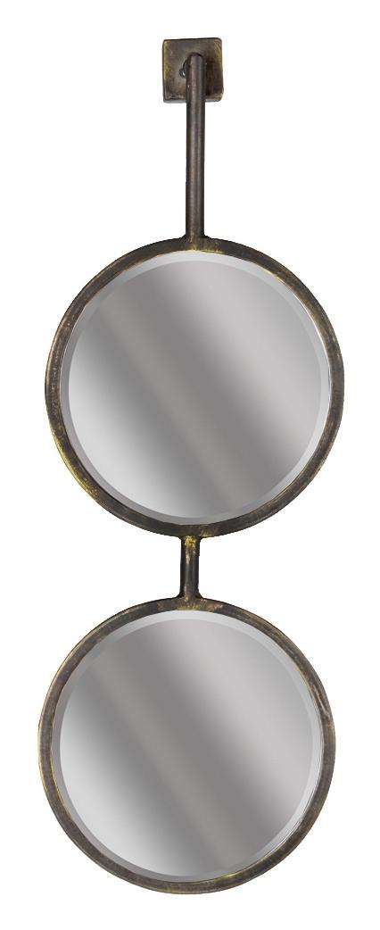 BePureHome Spiegel 'Chain' 58 x 20cm, kleur Antique Black BePureHome 30972 kopen