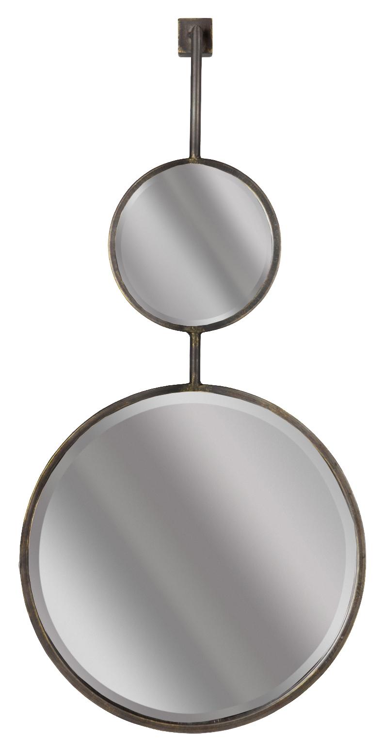 BePureHome Spiegel 'Chain' 82 x 40cm, kleur Antique Black Woonaccessoires | Spiegels kopen