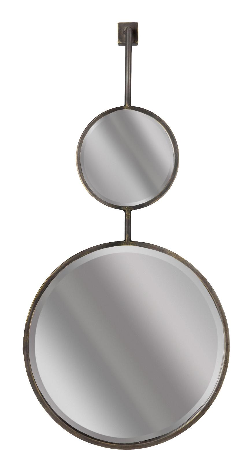 BePureHome Spiegel 'Chain' 82 x 40cm, kleur Antique Black BePureHome 30971 kopen