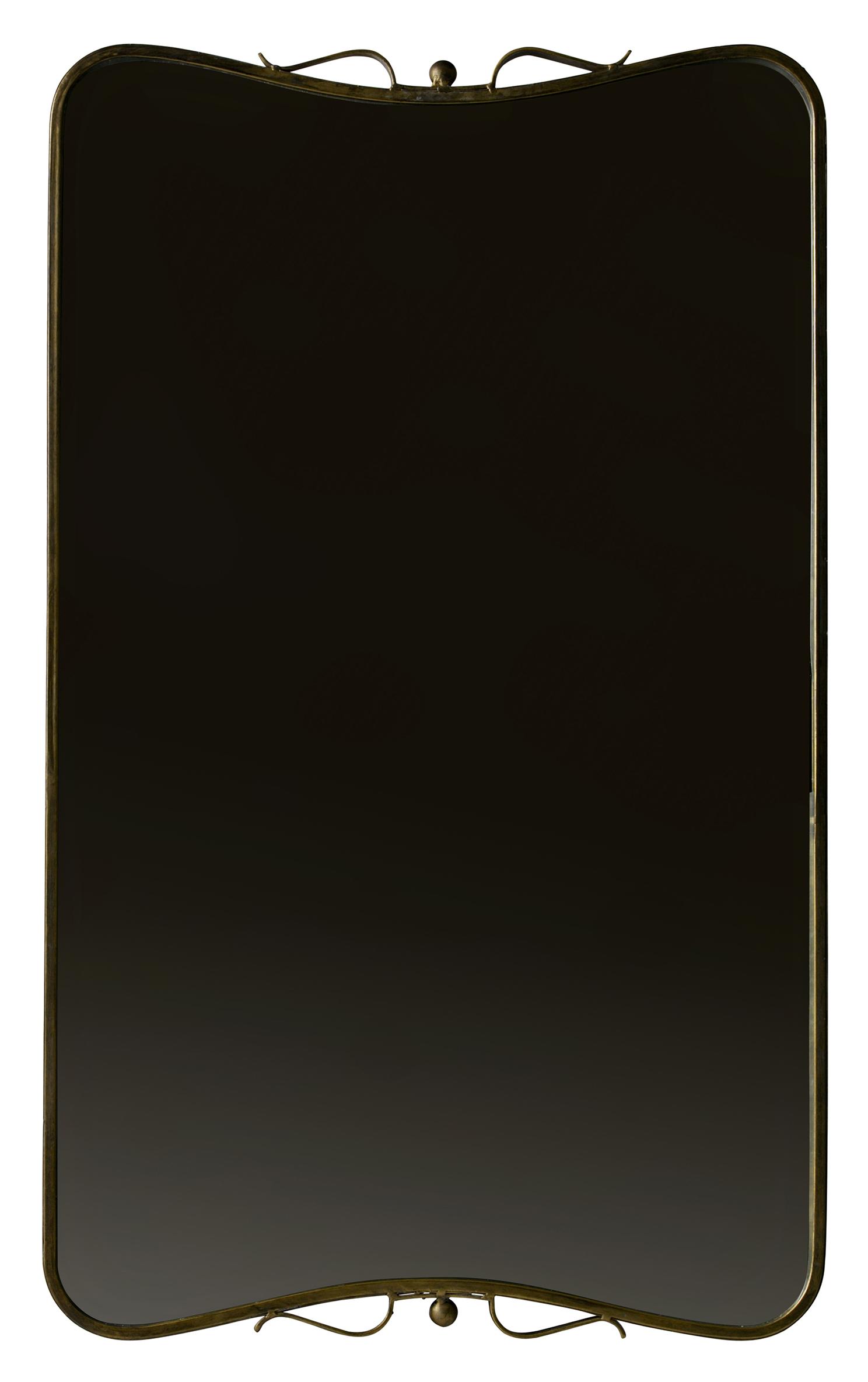 BePureHome Spiegel 'Double' 85,5 x 51,5cm, kleur Antique Brass Woonaccessoires | Spiegels kopen