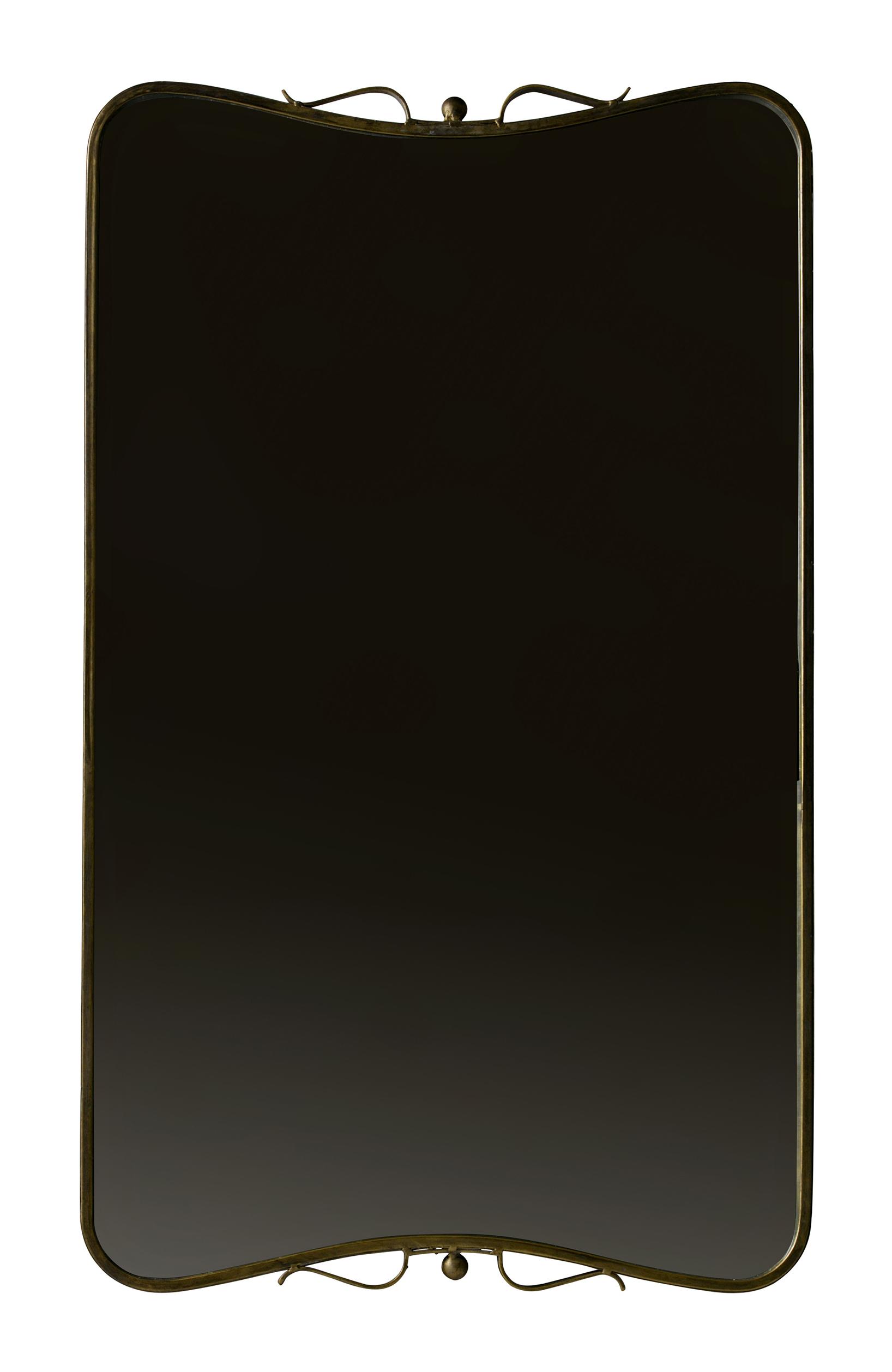 BePureHome Spiegel 'Double' 85,5 x 51,5cm, kleur Antique Brass Woonaccessoires   Spiegels kopen