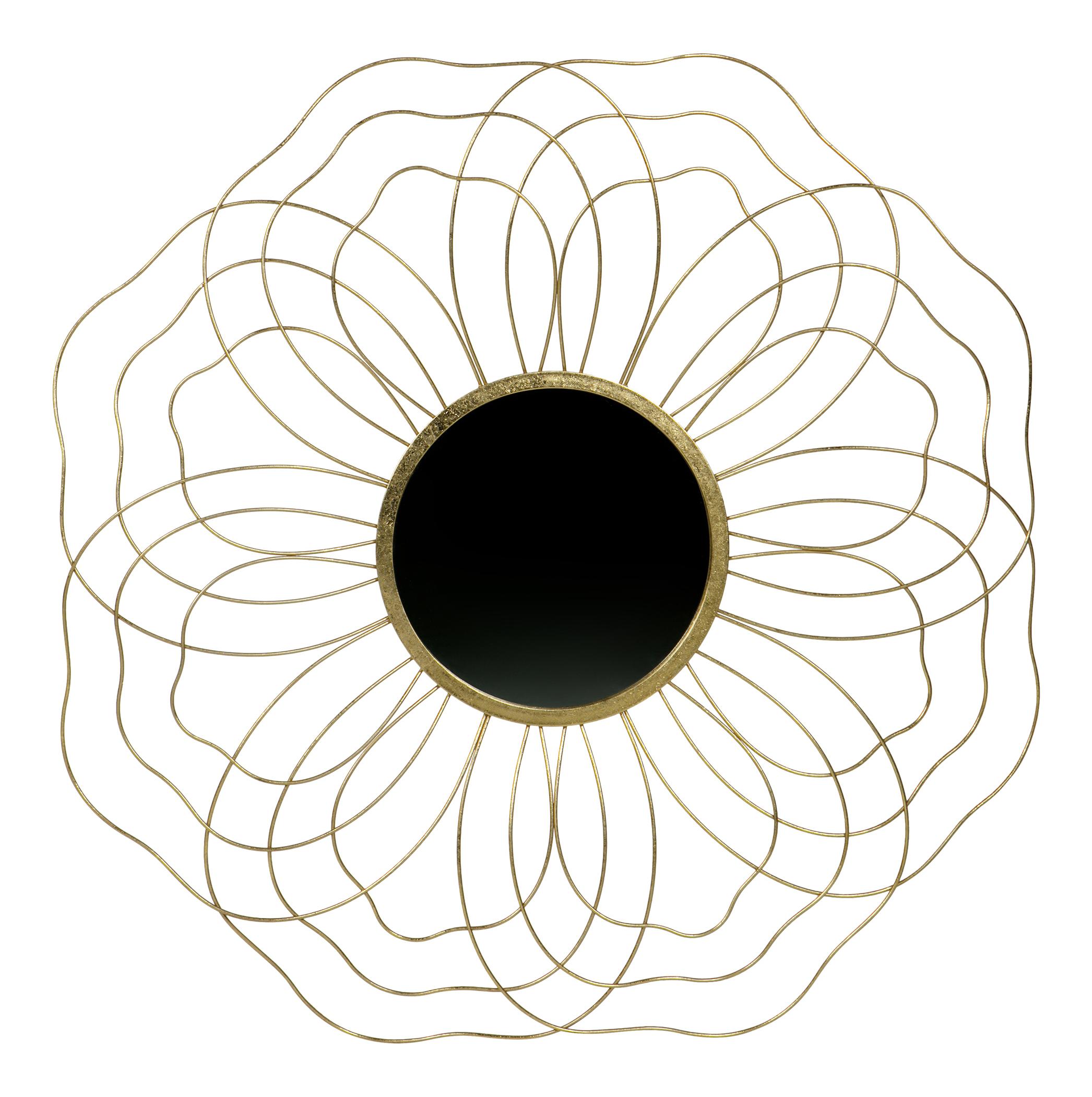 BePureHome Spiegel 'Handsome' 88,5cm, kleur Antique Brass Woonaccessoires | Spiegels kopen