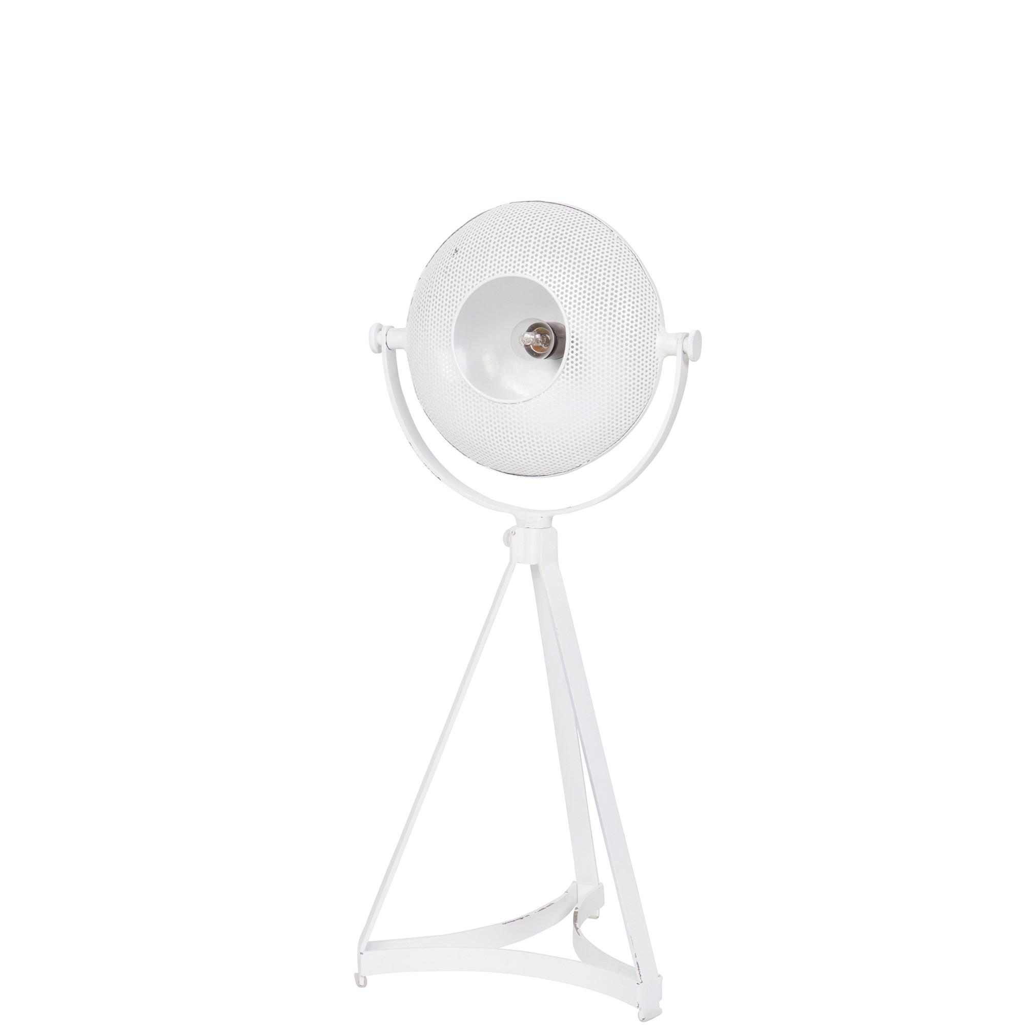 BePureHome Tafellamp 'Blown' kleur wit