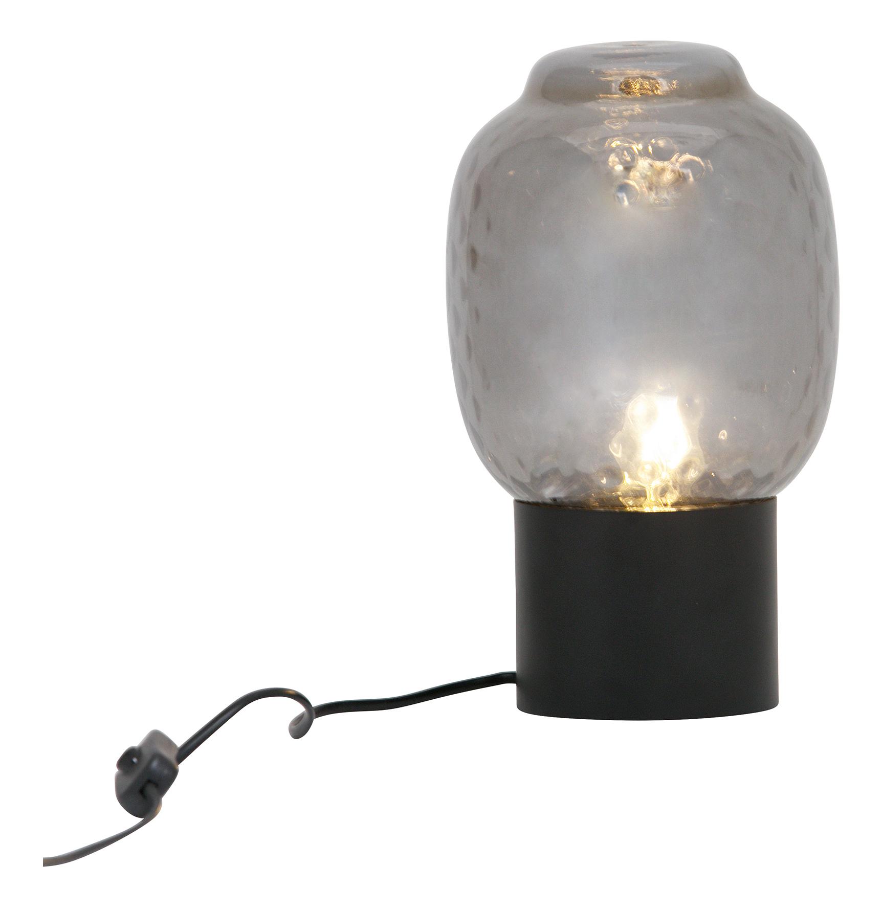 BePureHome Tafellamp 'Bubble' 29cm, kleur Zwart Verlichting | Tafellampen kopen