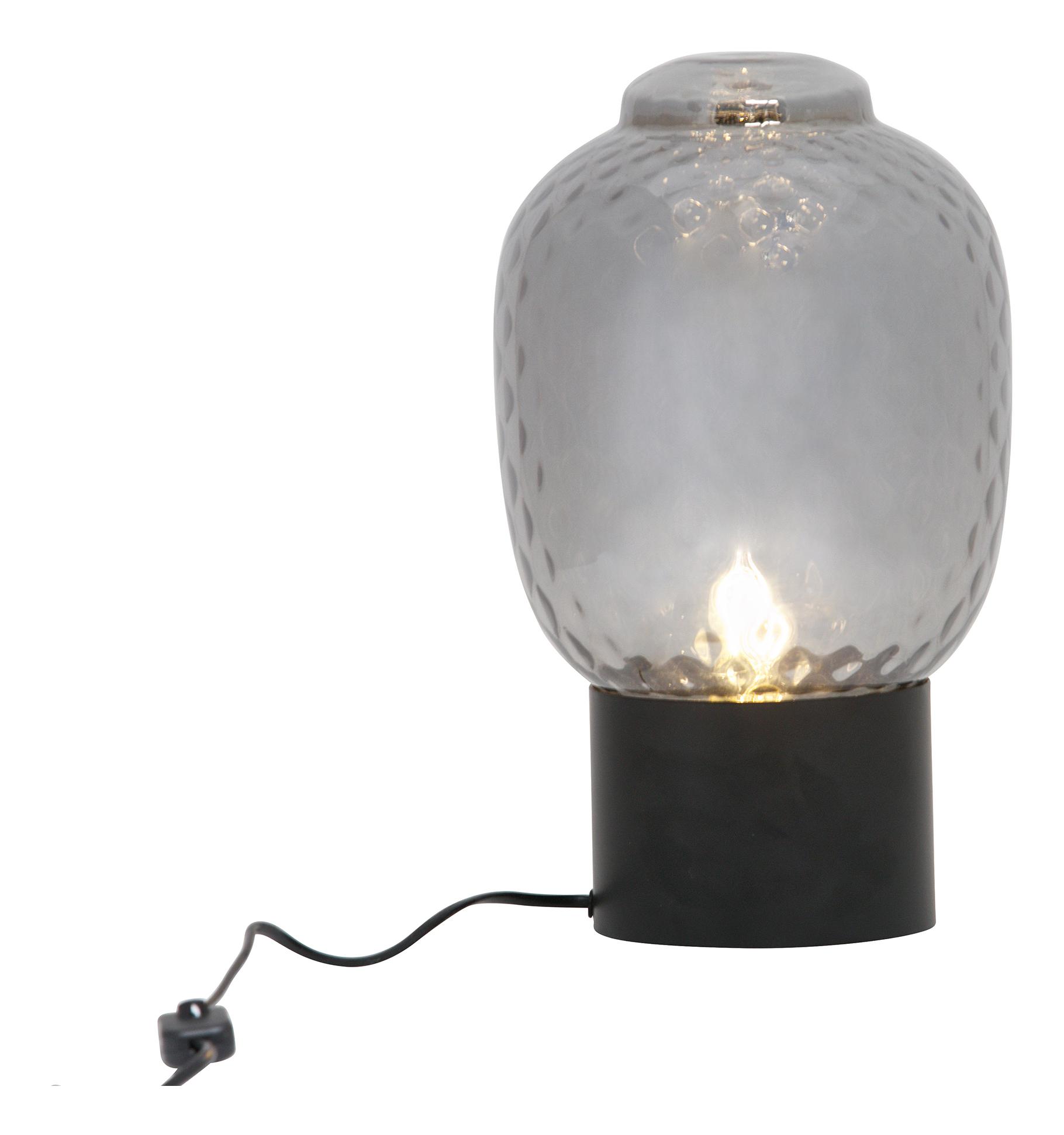 BePureHome Tafellamp 'Bubble' 34cm, kleur Zwart Verlichting | Tafellampen kopen