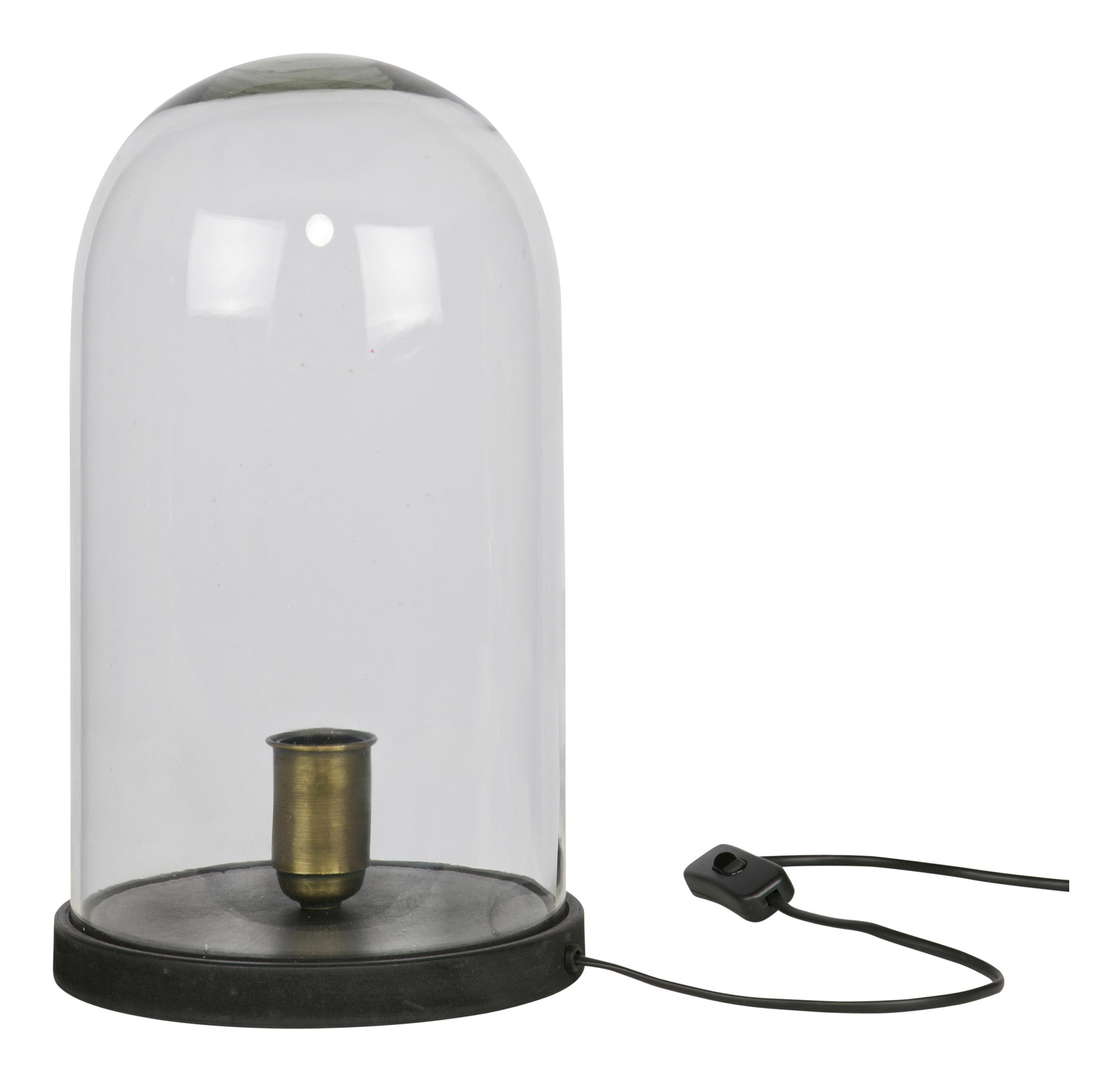 BePureHome Tafellamp 'Cover' Stolp, kleur Zwart Verlichting | Tafellampen kopen