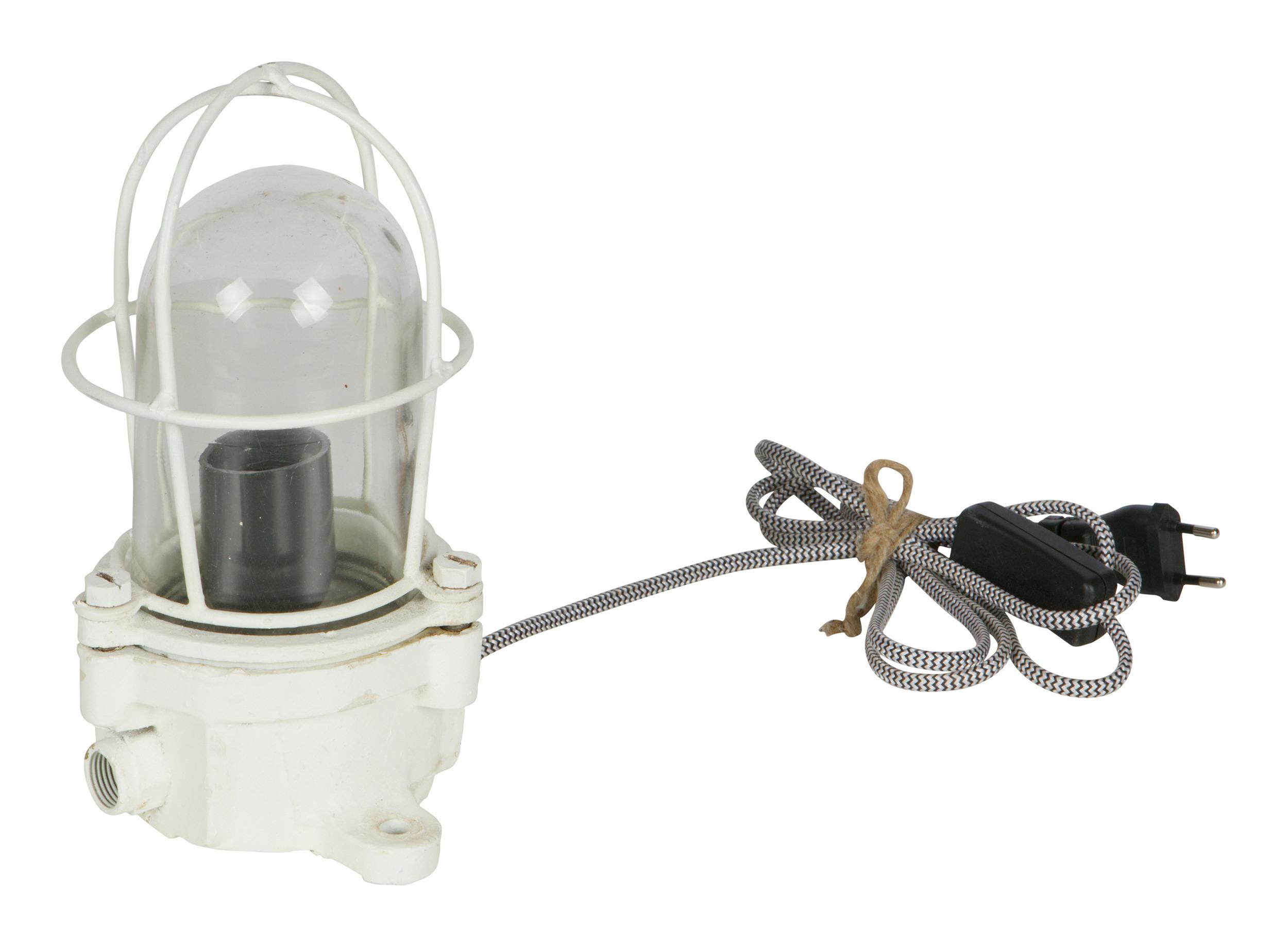 BePureHome Tafellamp 'Shiplight' 15 x 15cm, kleur Wit korting