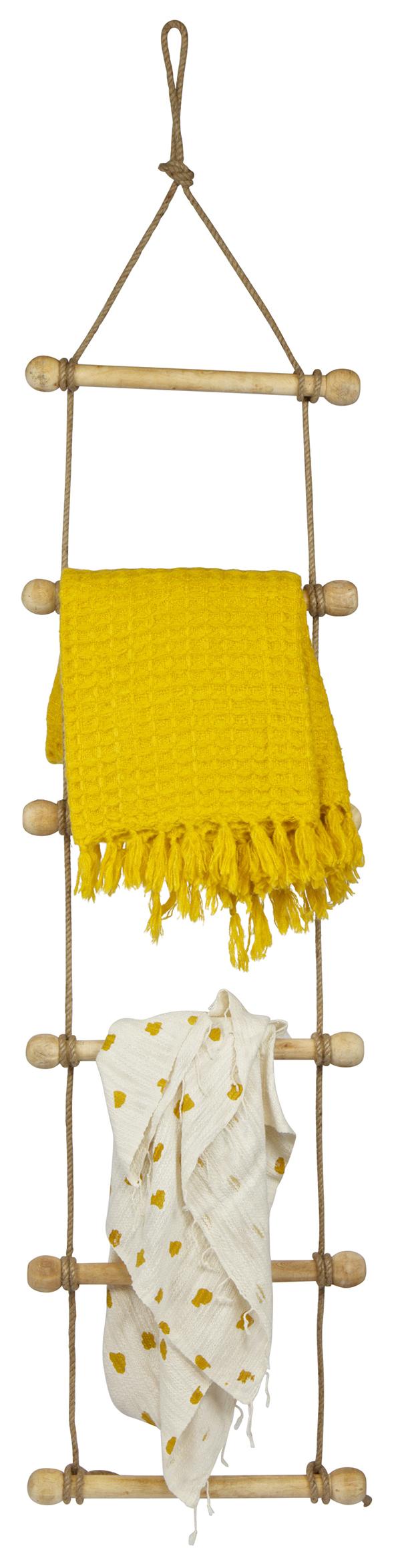 BePureHome Touwladder 'Rope', kleur Naturel Woonaccessoires | Decoratie kopen