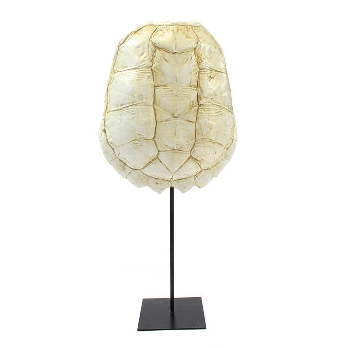 By-Boo Schildpaddenschild 'Katana' large, kleur Wit Woonaccessoires | Decoratie kopen