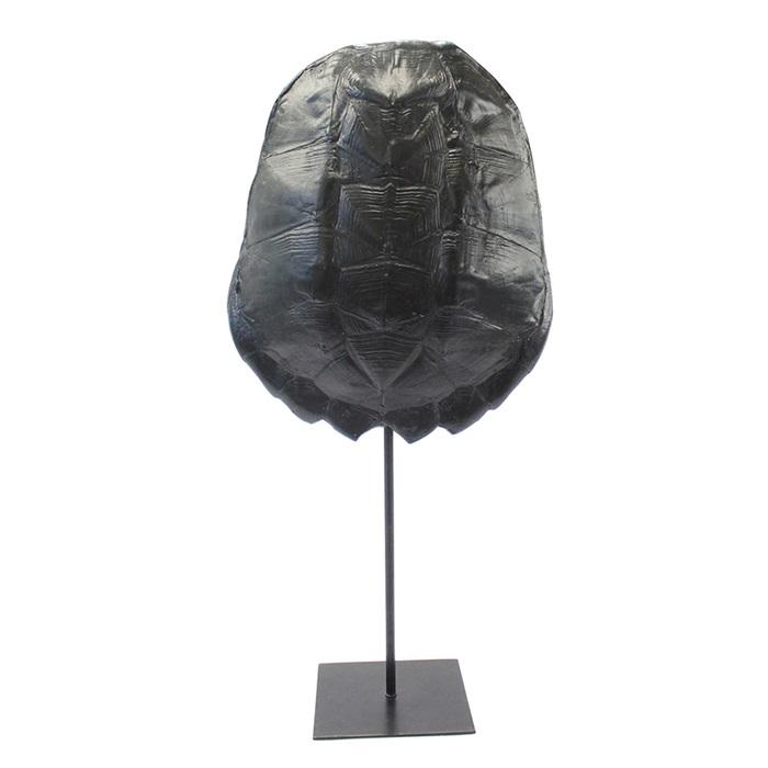 By-Boo Schildpaddenschild 'Katana' large, kleur Zwart Woonaccessoires | Decoratie kopen