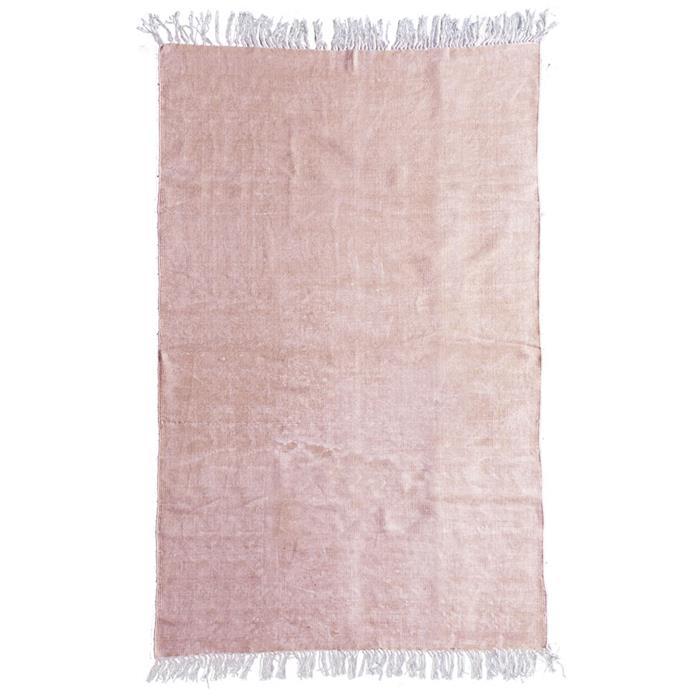 By-Boo Vloerkleed 'Mono' 200 x 290cm, kleur pink