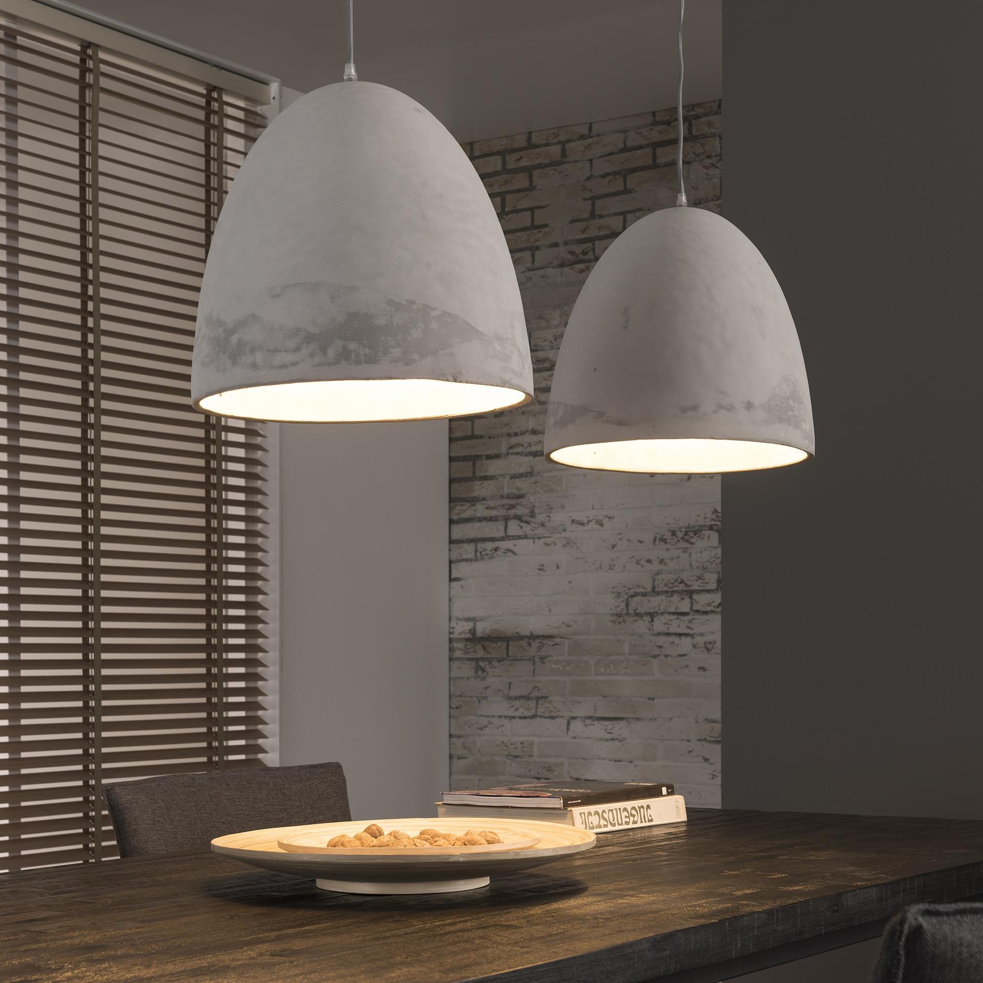 Dubbele Hanglamp 'Ace' beton Verlichting