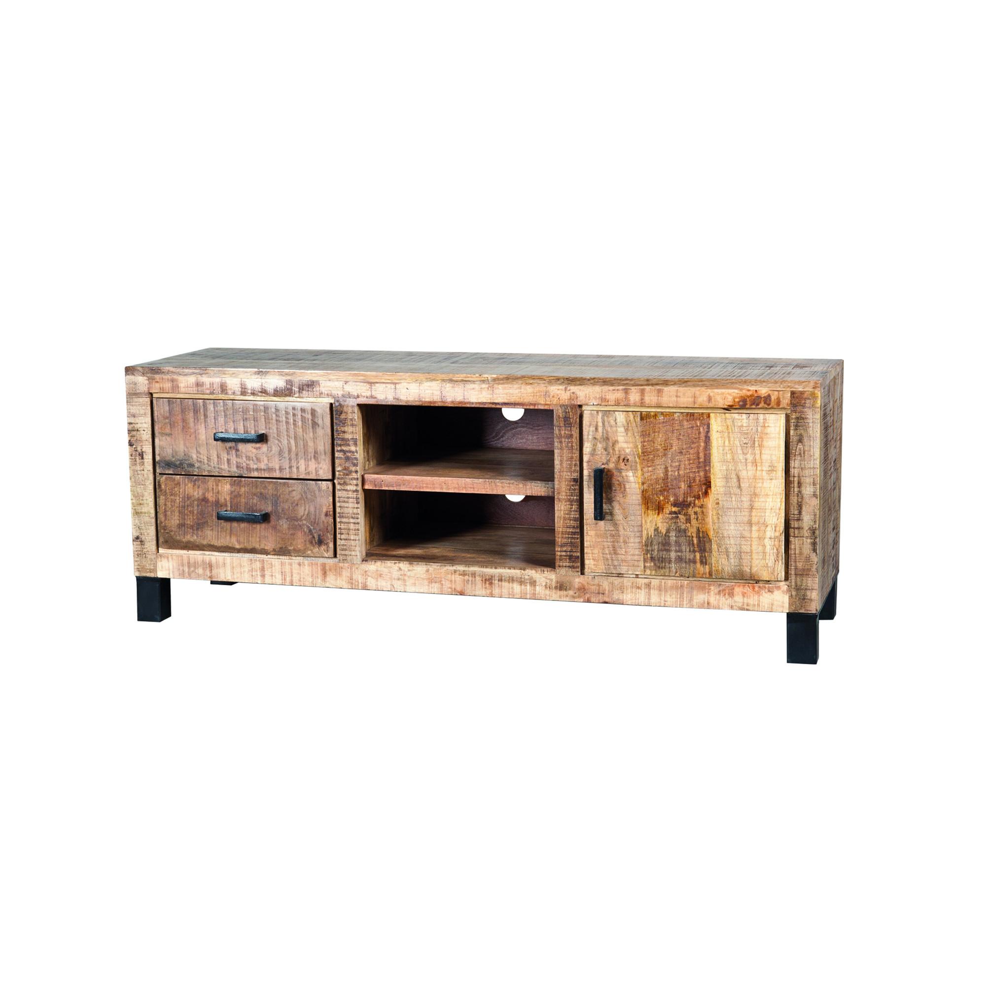 Eleonora Tv-meubel 'Iron XL Industrieel' 150 cm vergelijken Eleonora