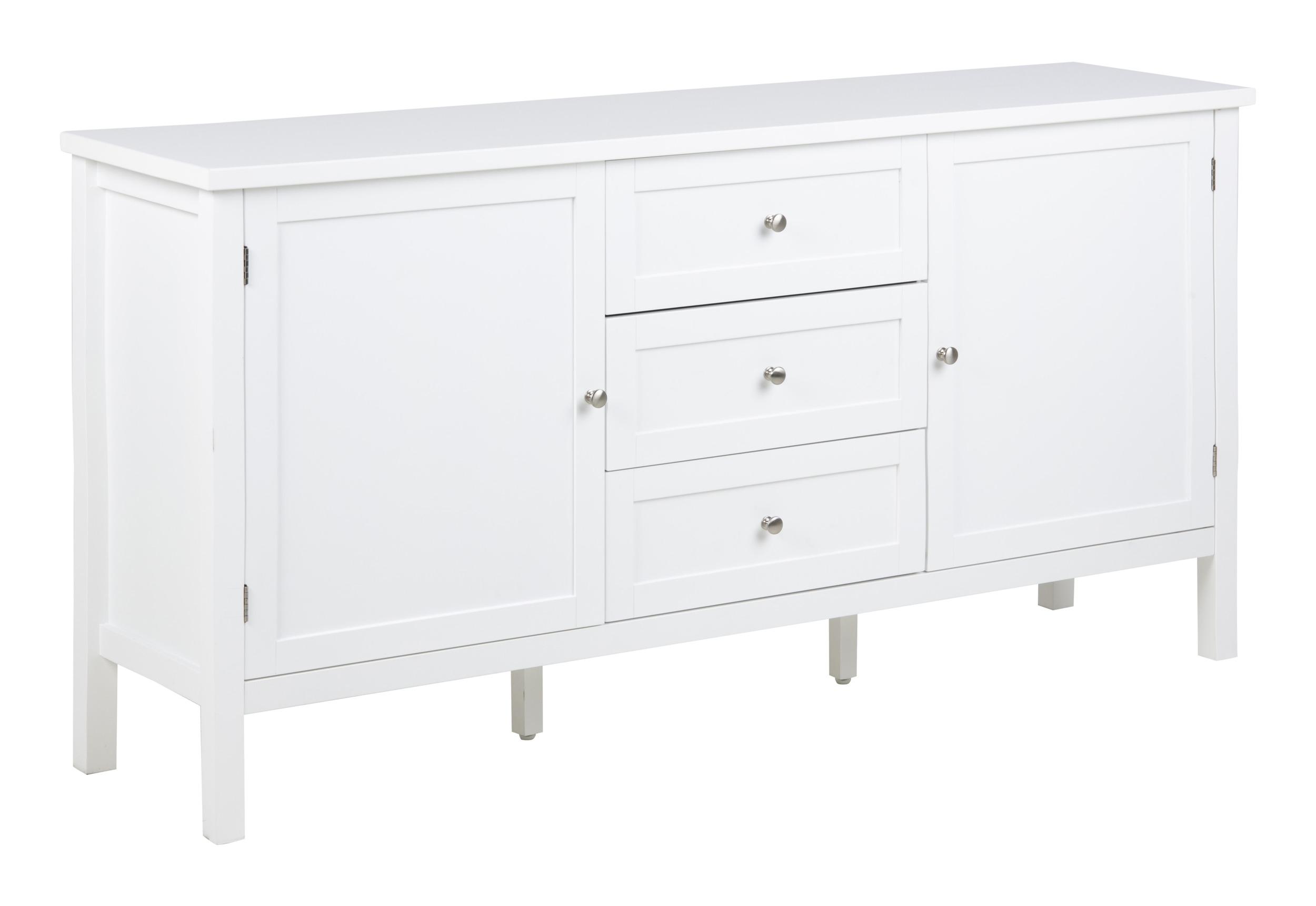 Bendt Dressoir 'Yutte' 160cm, kleur wit