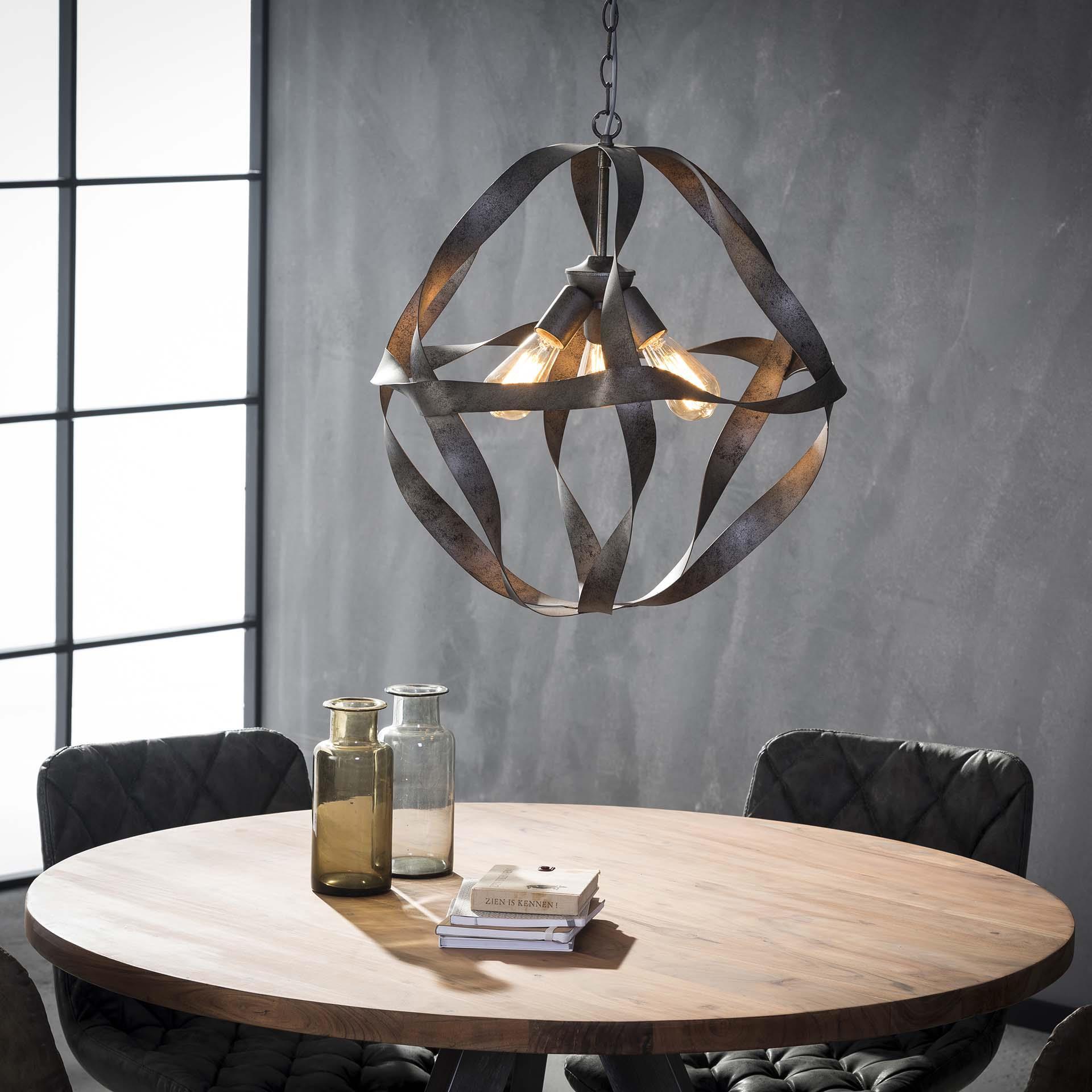 Hanglamp 'Dustin' 3-lamps korting