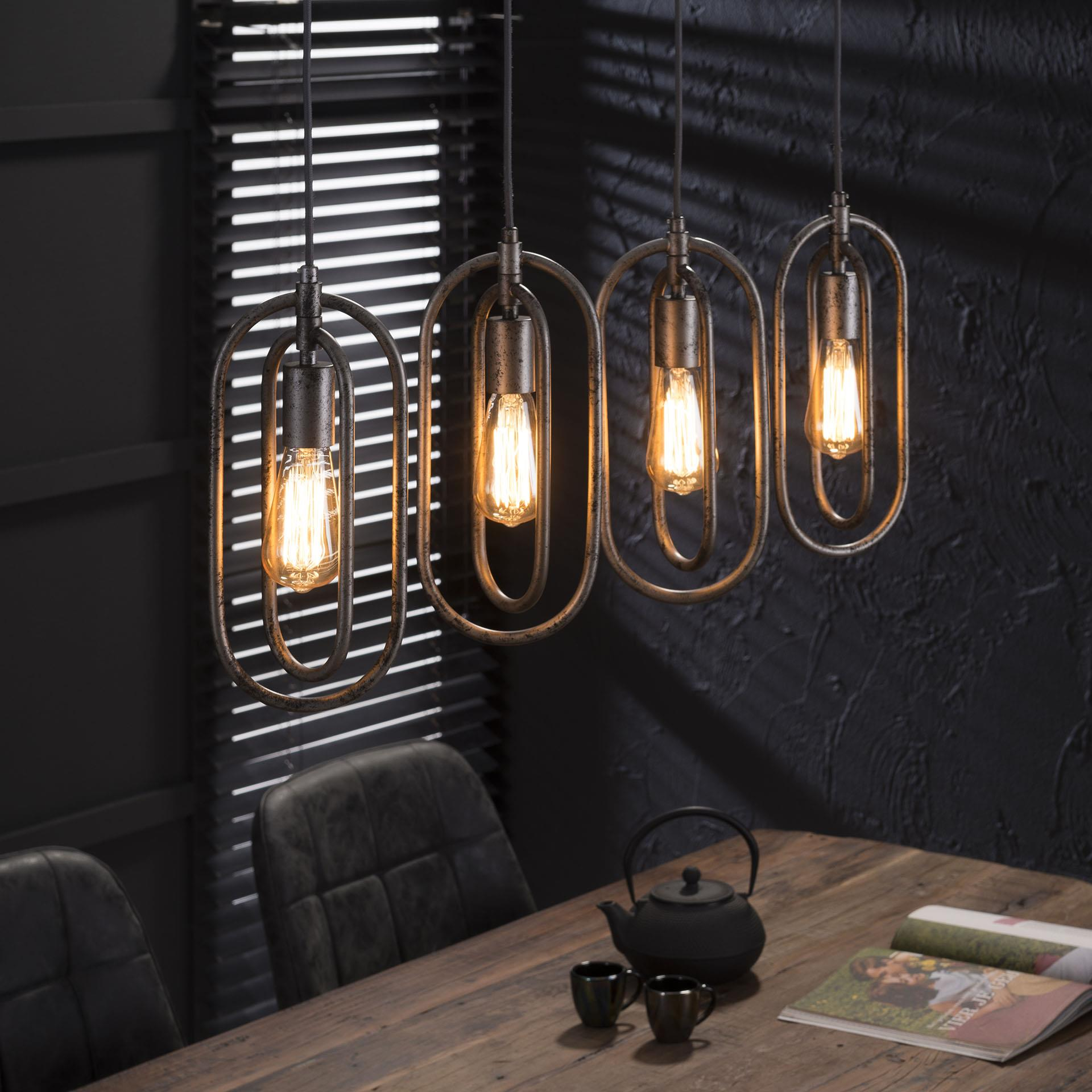 Hanglamp 'Roberto' 4-lamps korting