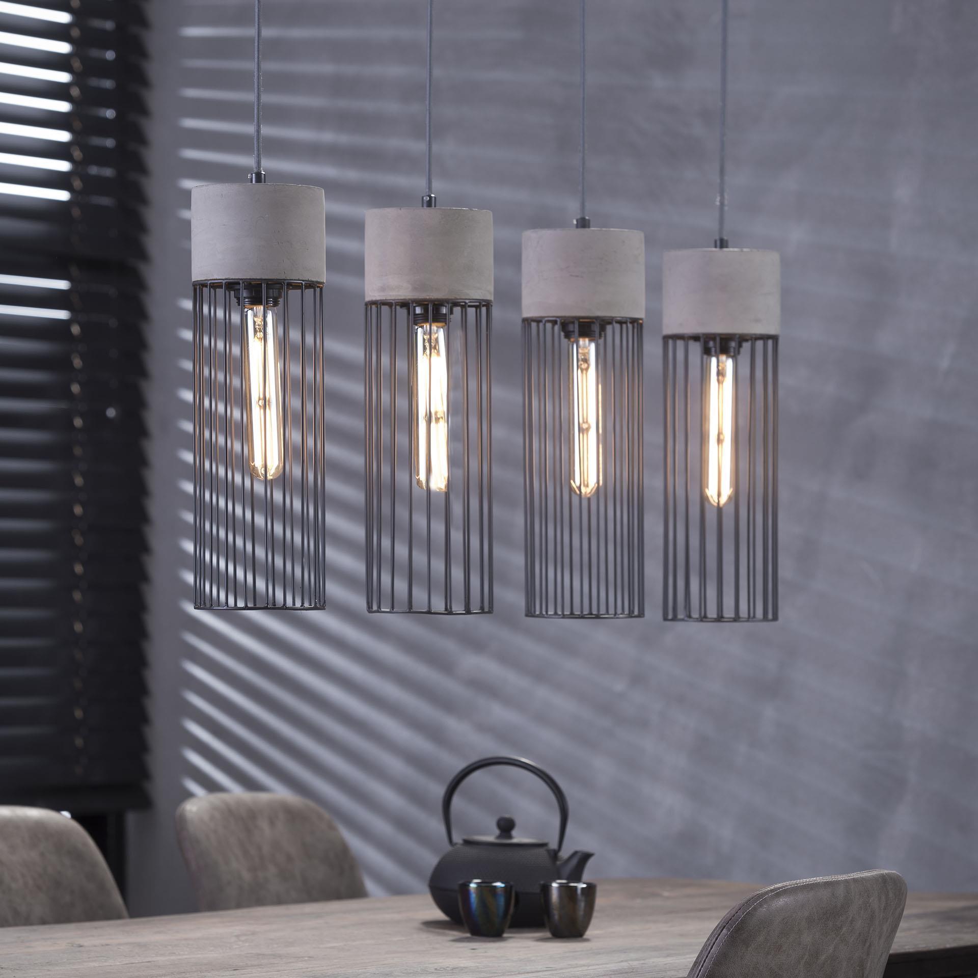 Hanglamp 'Tim' 4-lamps korting