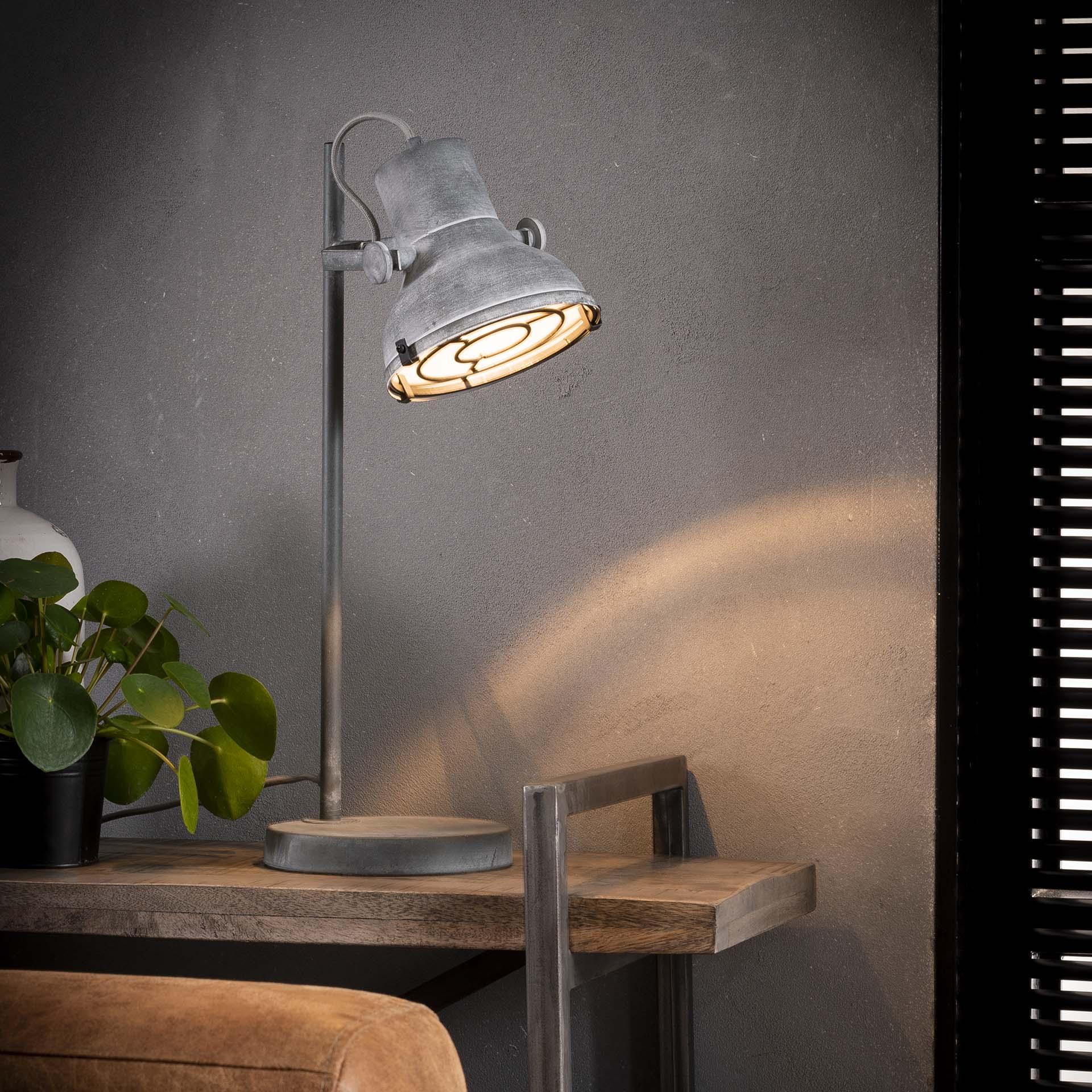 Industriële Tafellamp 'Kerry' Verlichting | Tafellampen kopen